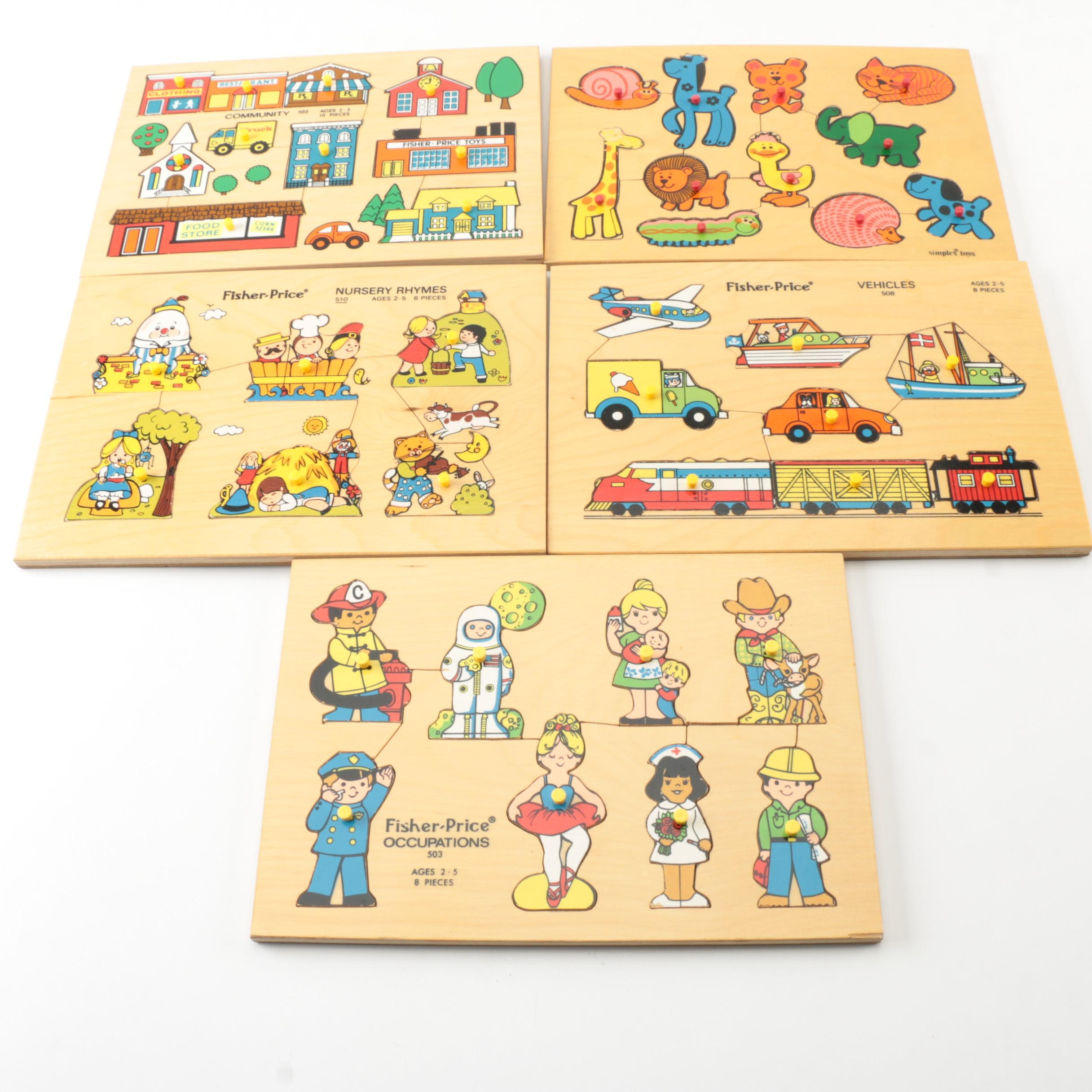 Fisher Price Wooden Puzzles