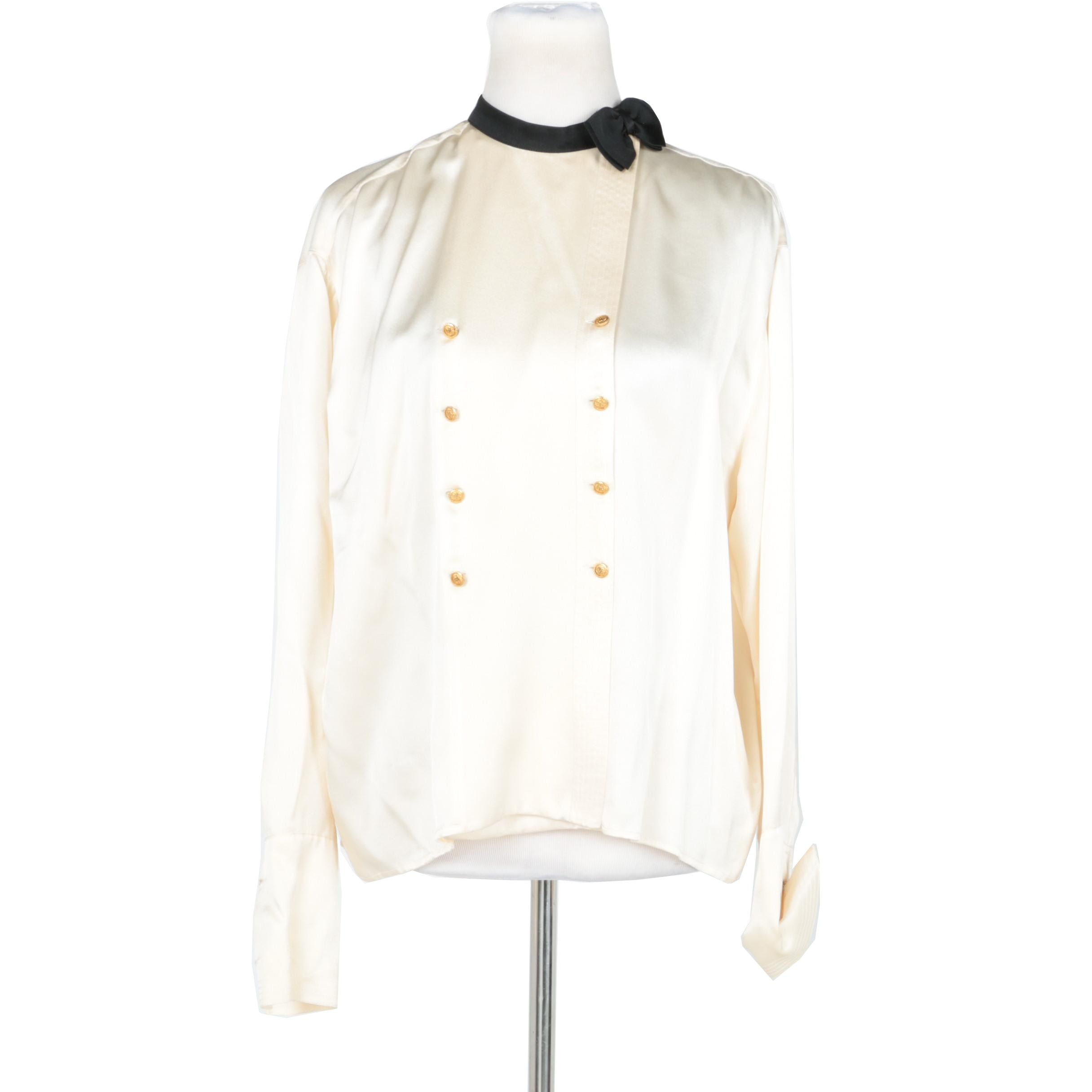 Chanel Boutique Silk Blouse