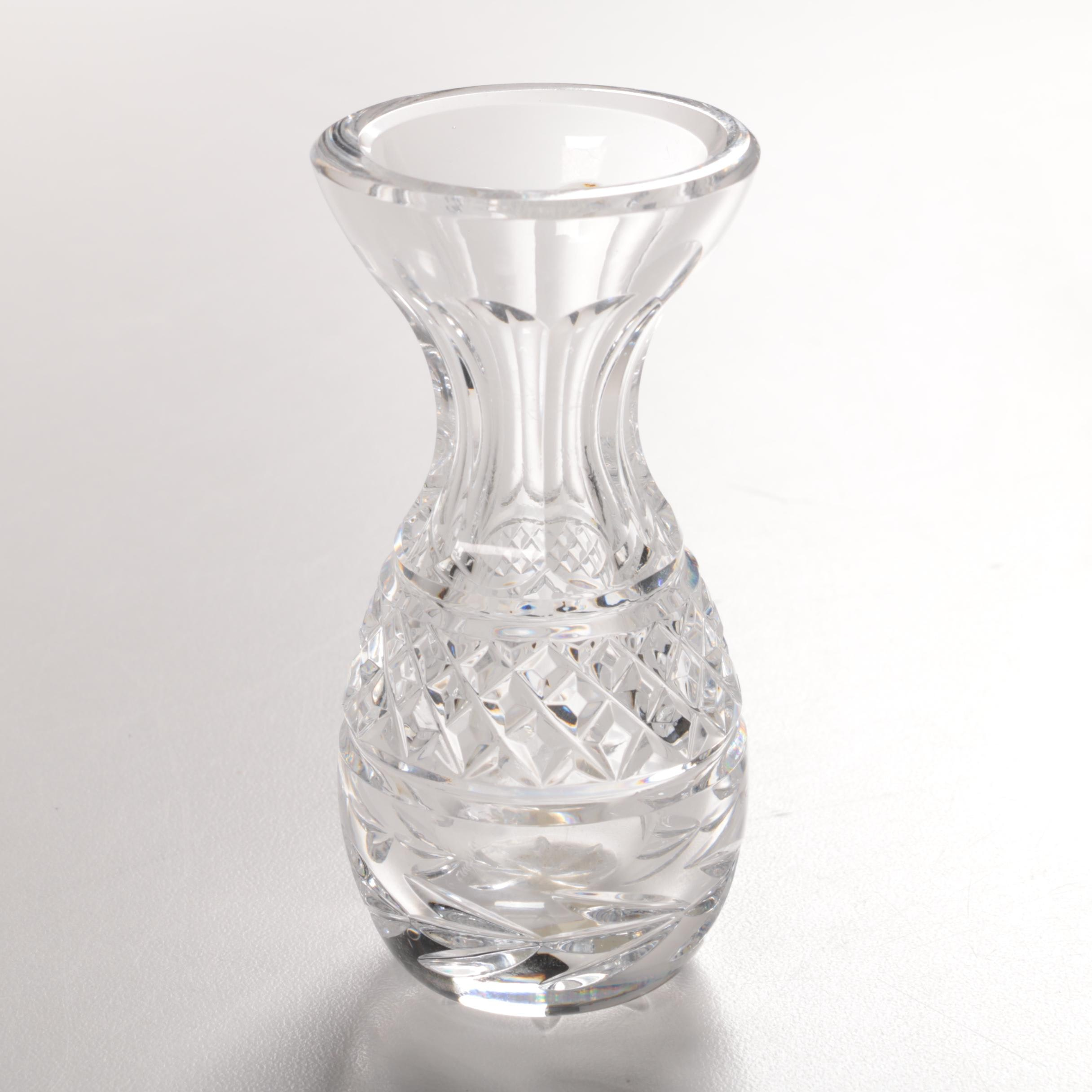 "Waterford Crystal ""Glandore"" Bud Vase"