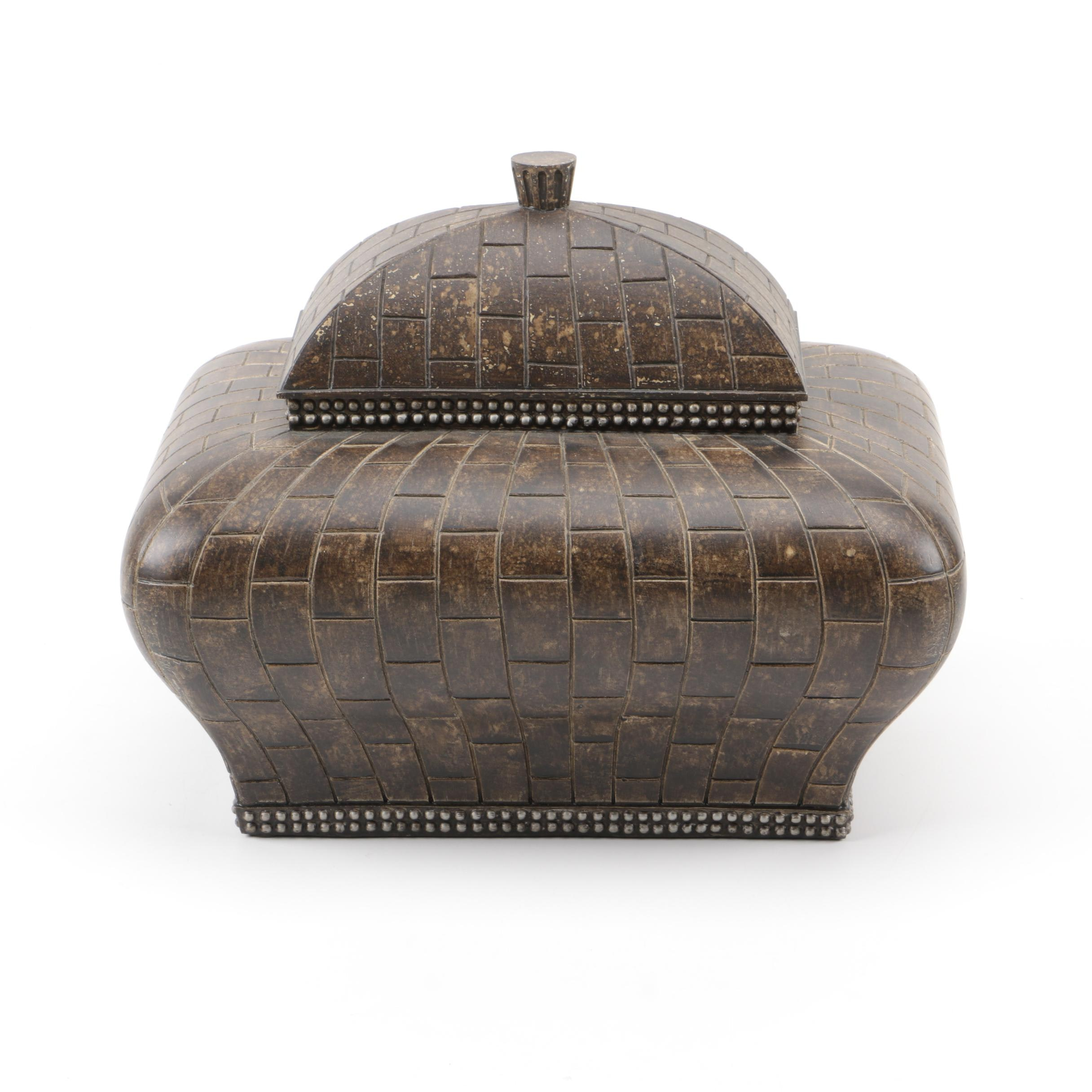 Decorative Domed Resin Box