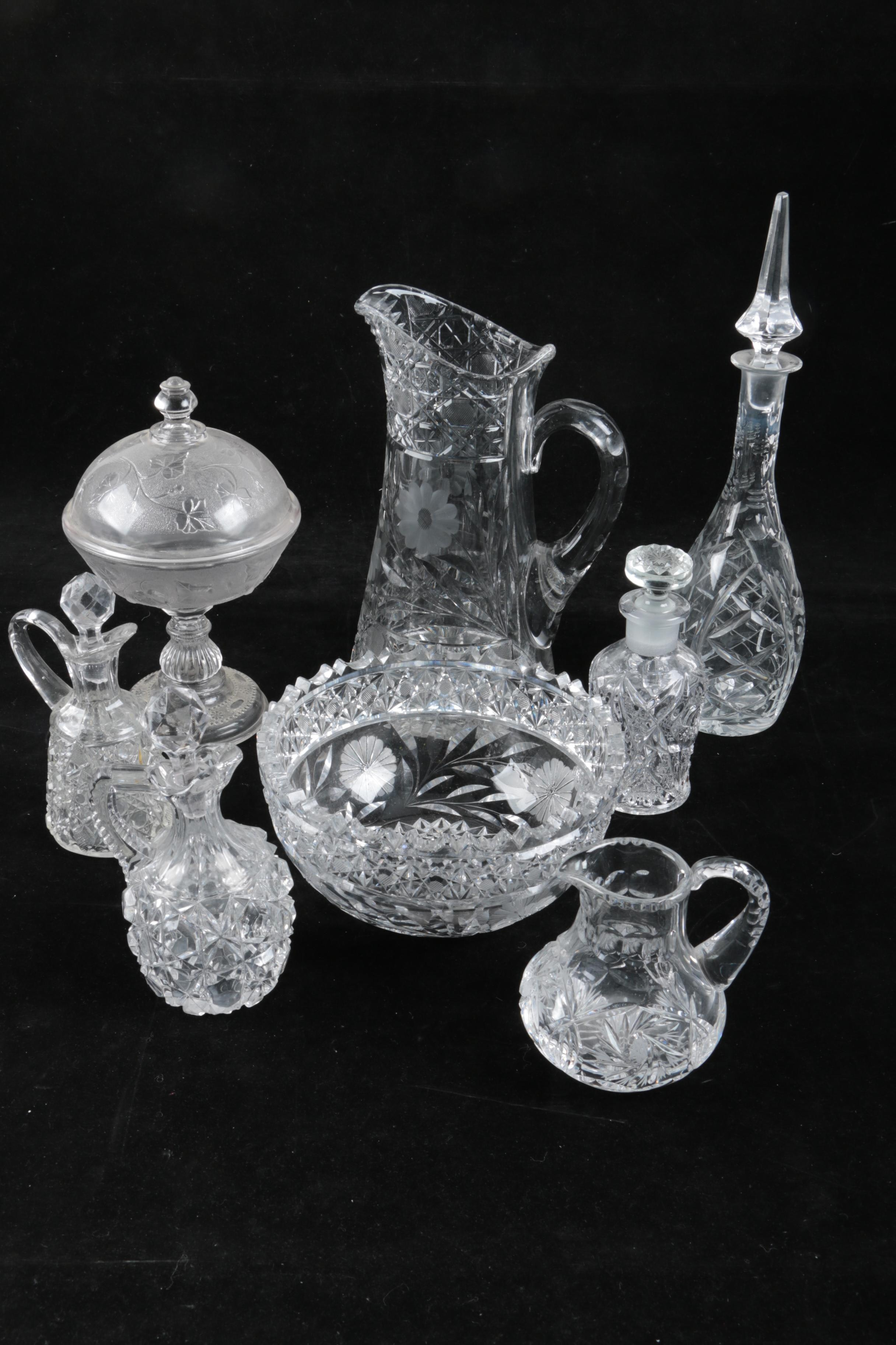 Crystal and Glass Tableware