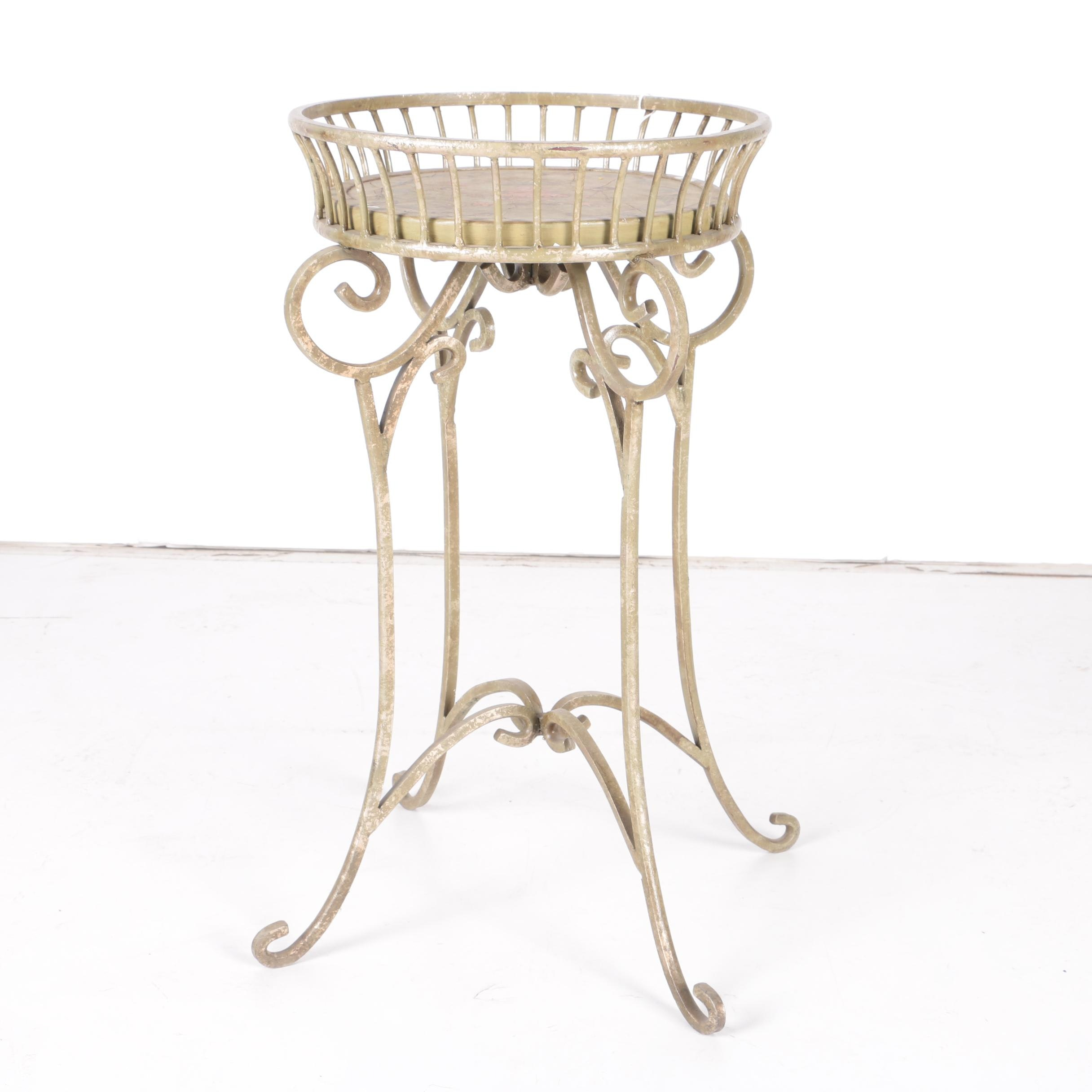 Vintage Neoclassical Style Plant Stand
