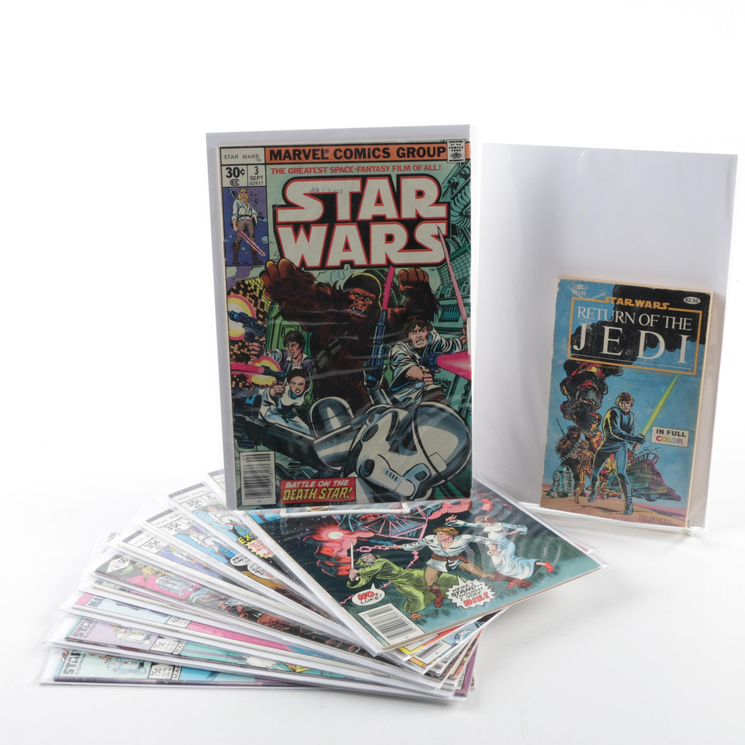 """Collection of """"Star Wars"""" Comic Books"""