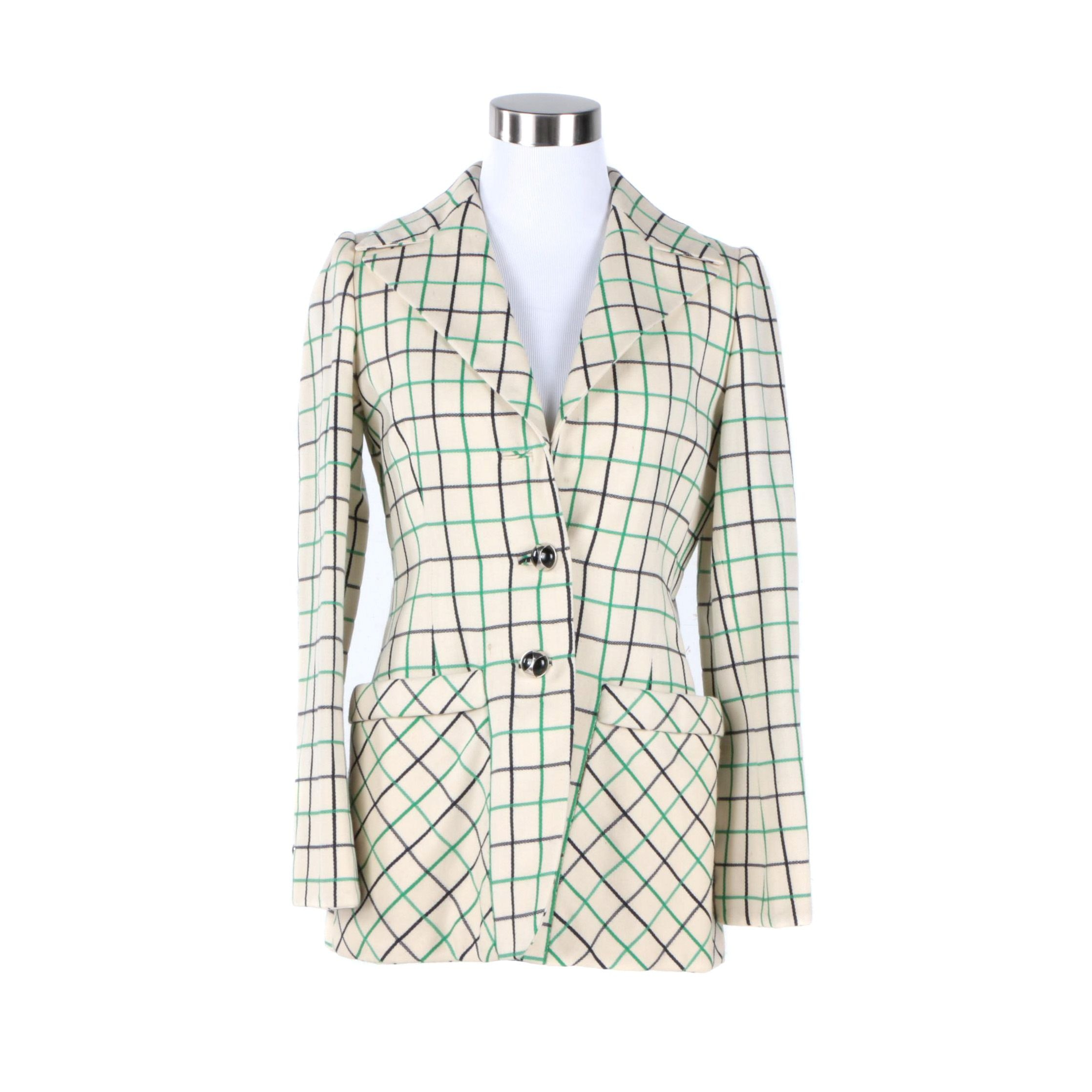 Women's Vintage Cardinali Suit Jacket