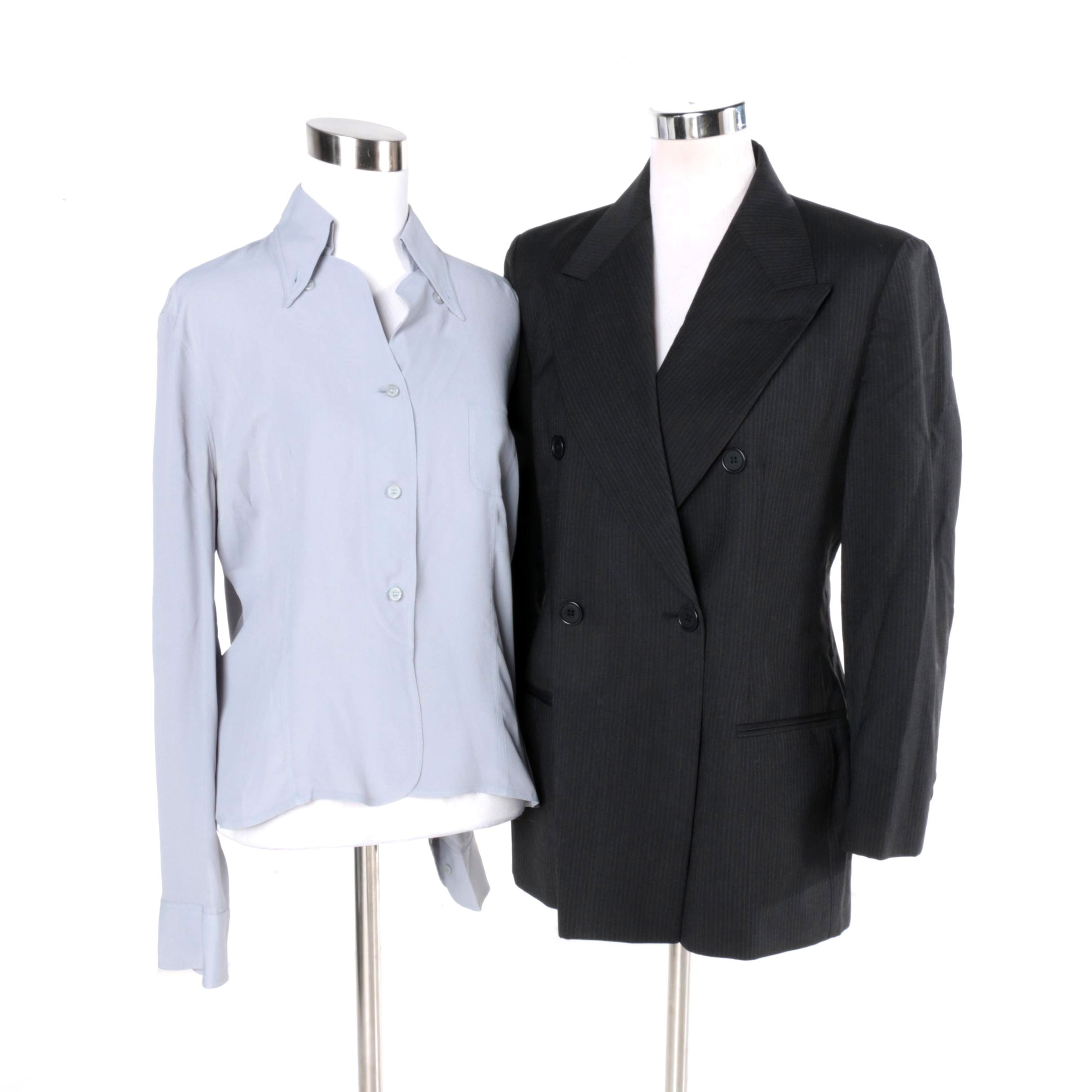 Women's Emporio Armani Blouse and Jacket