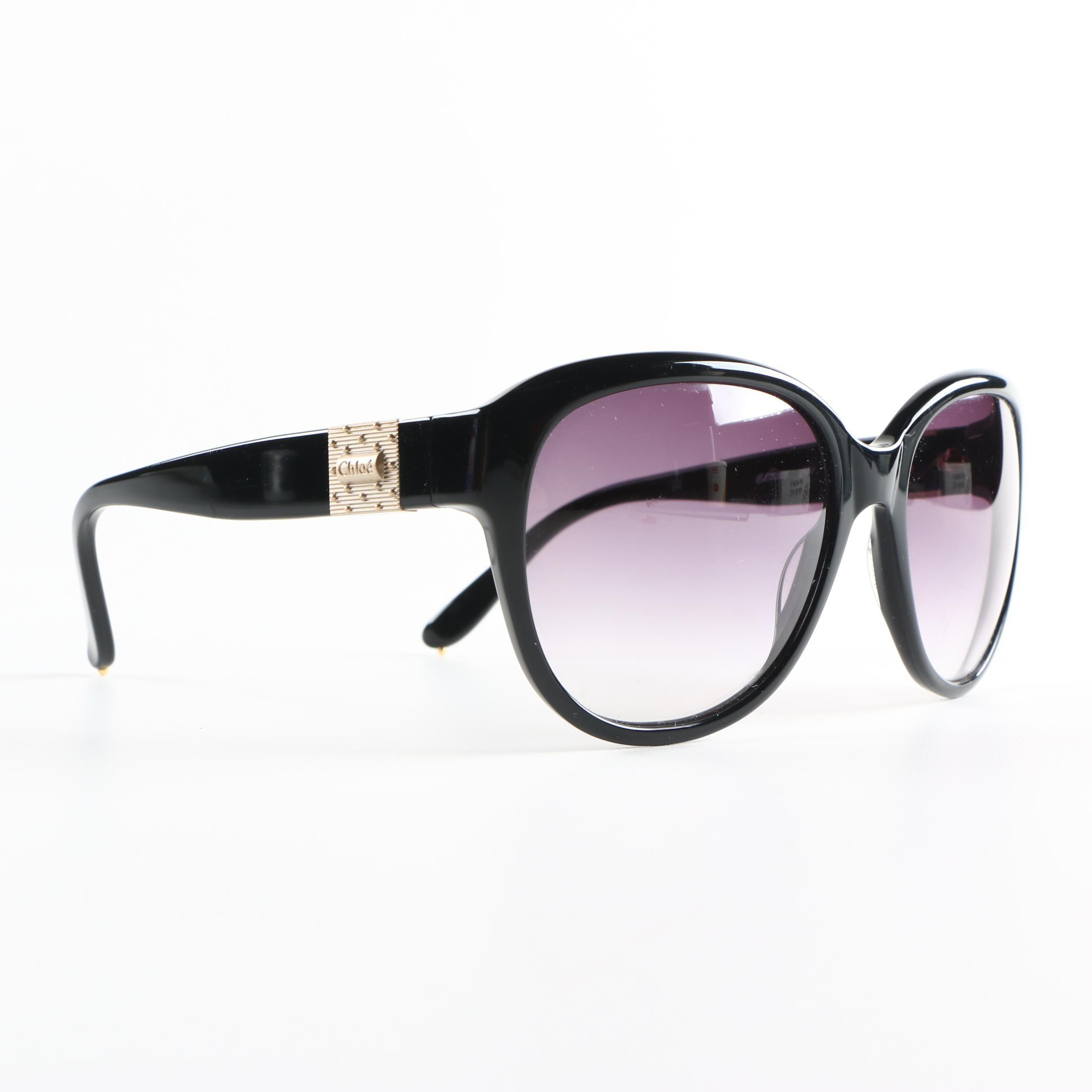 Chloé Large Round Sunglasses