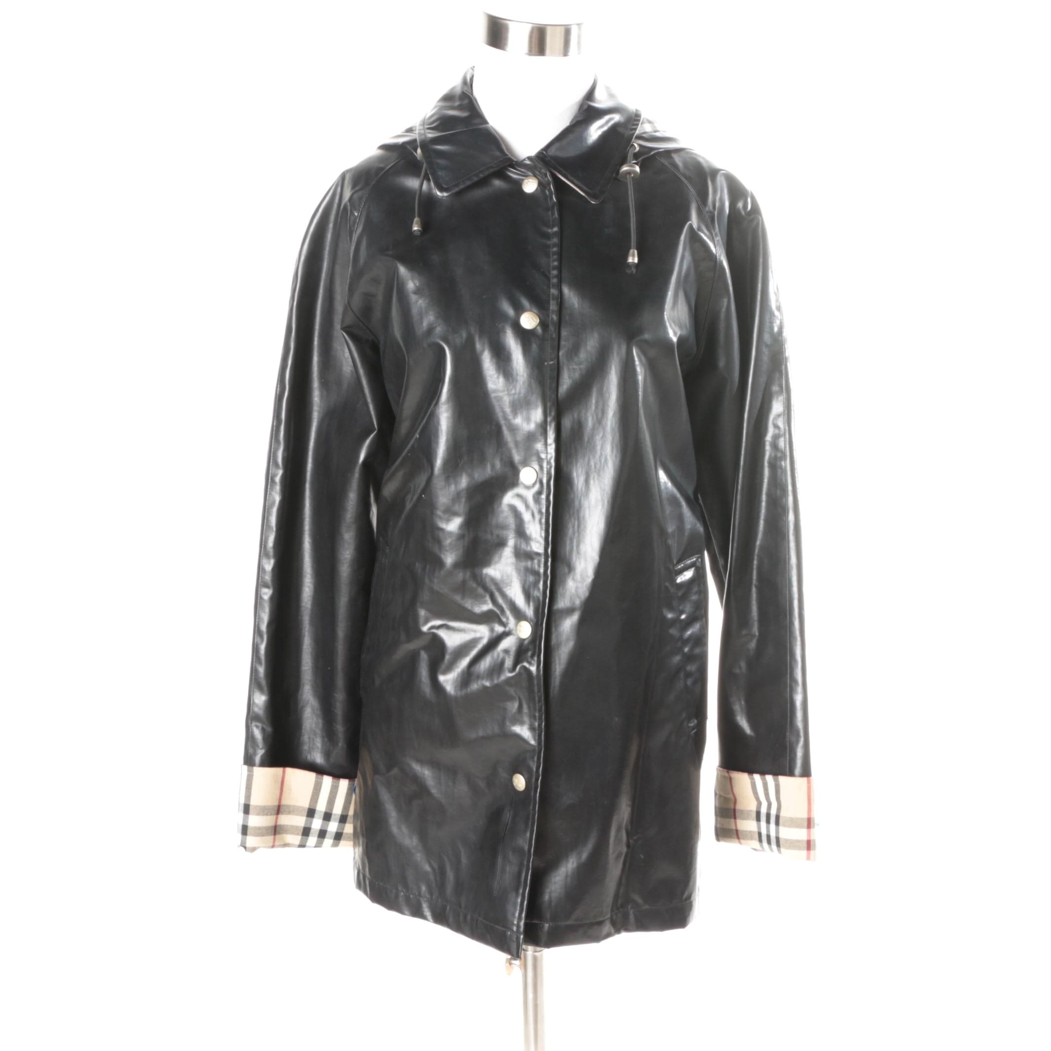 Women's Burberry Rain Jacket