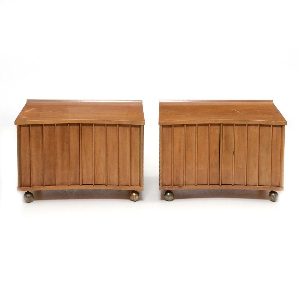 Vintage Mid Century Modern End Tables