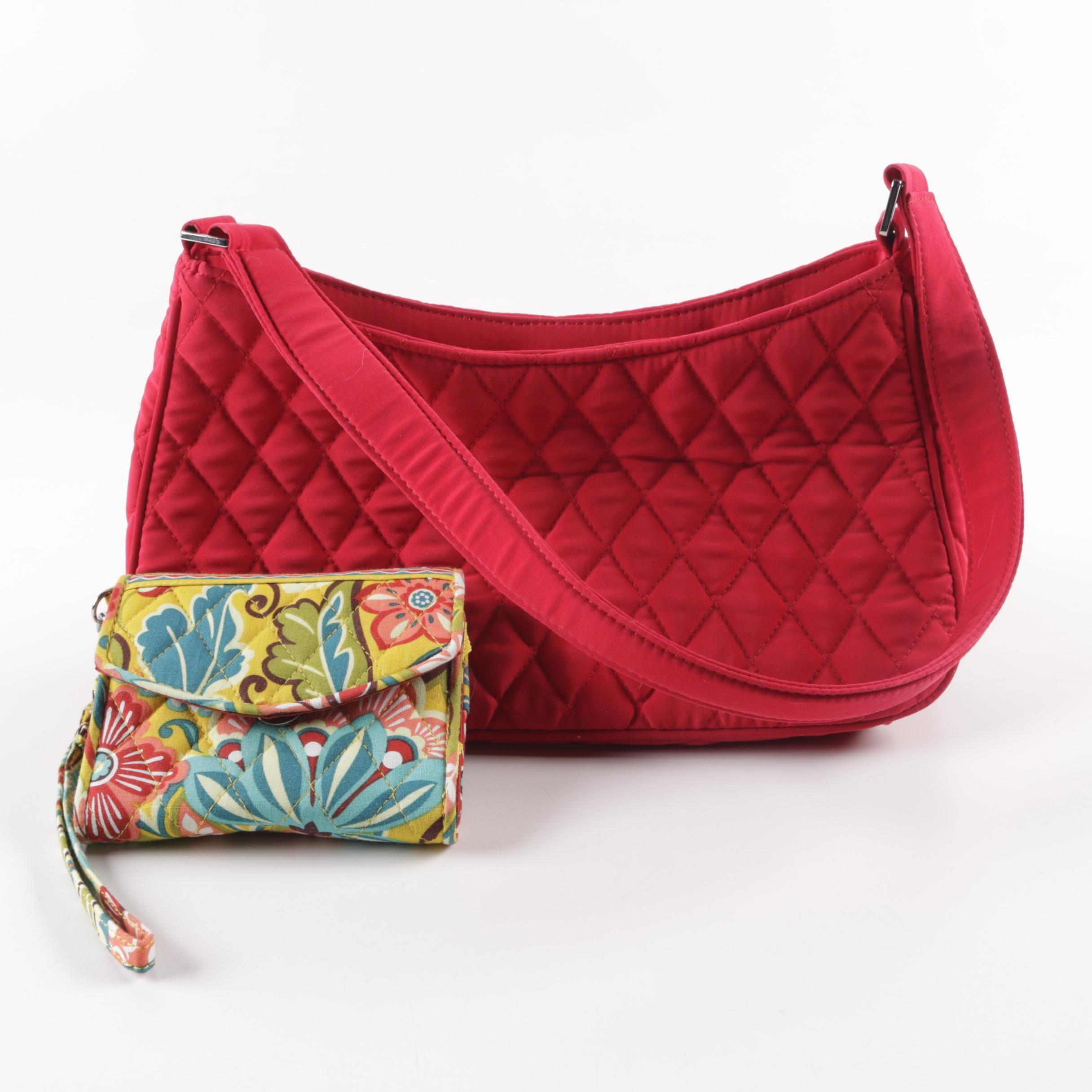 Vera Bradley Handbag and Wallet