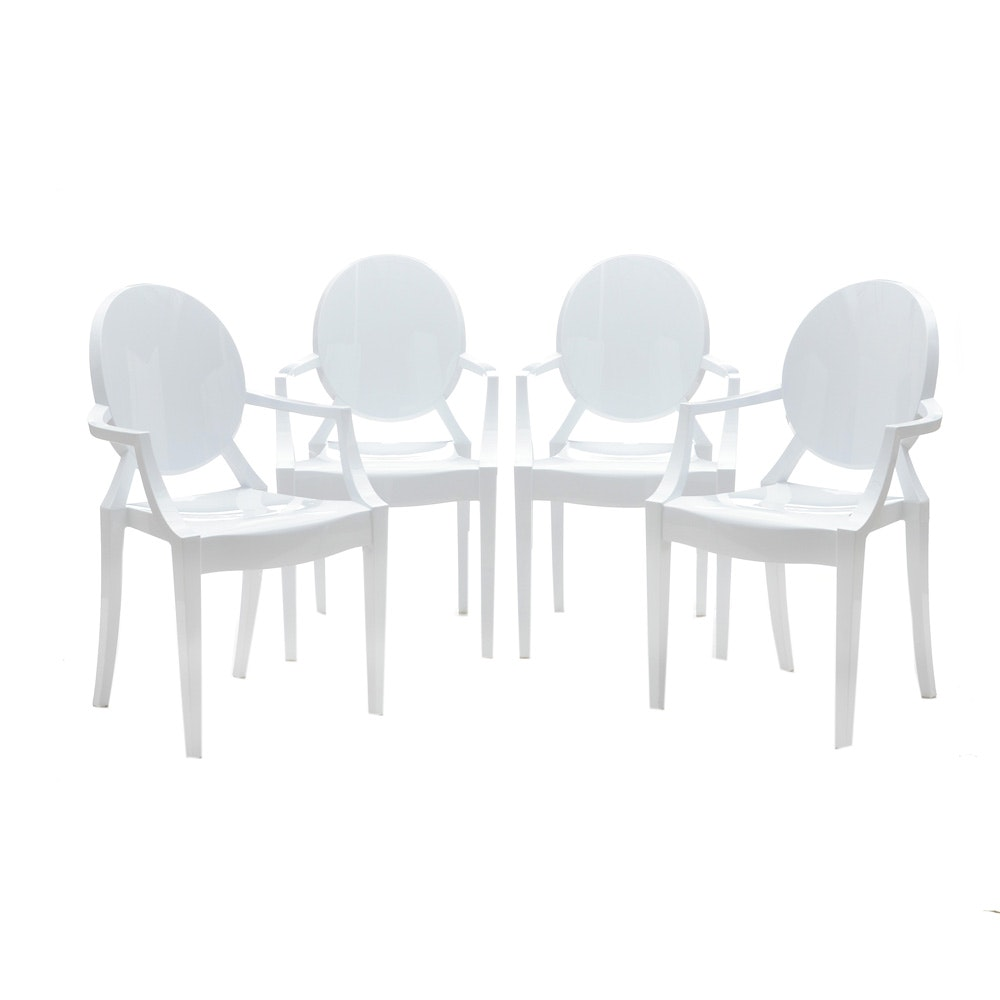 Set of Modern Style Dining Chairs