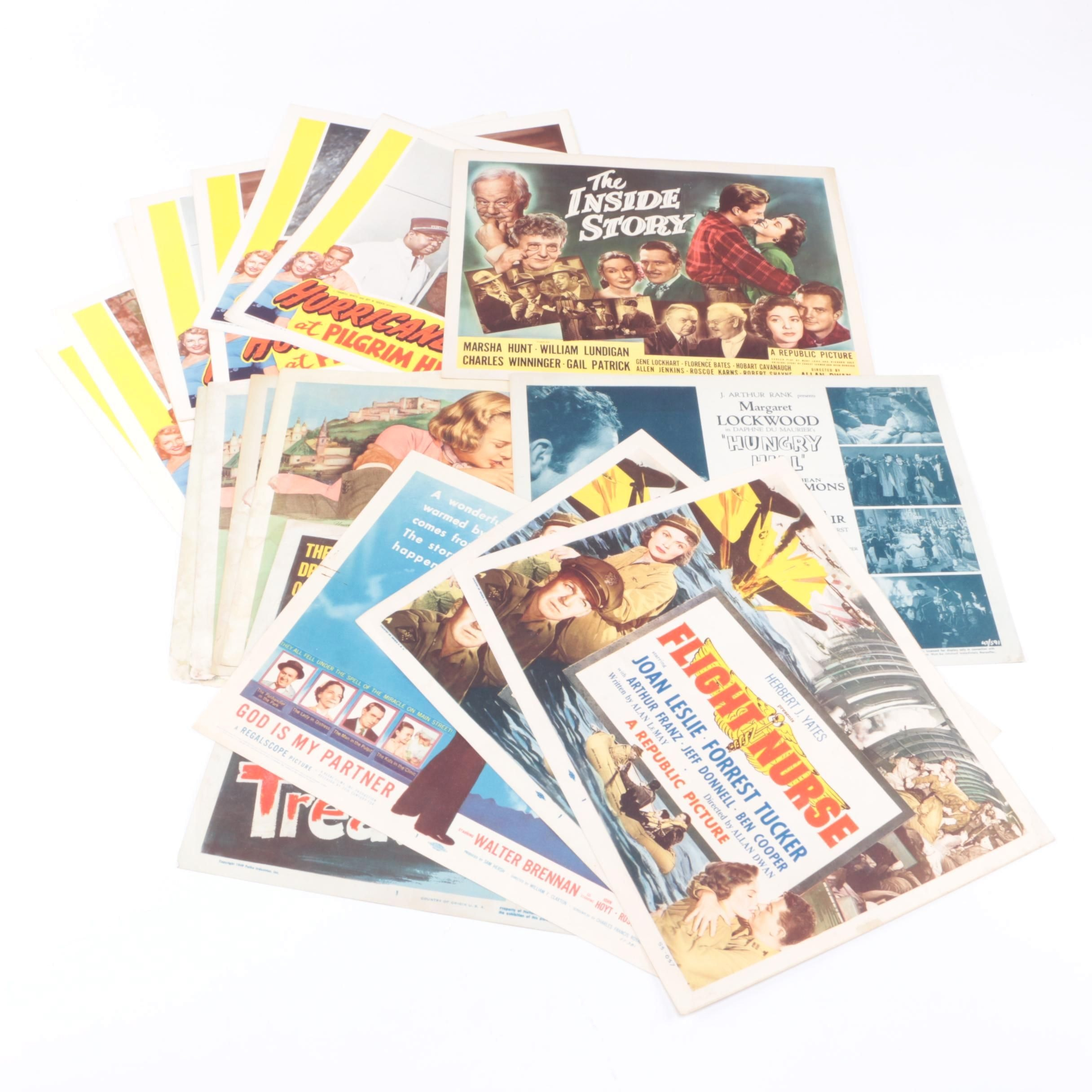 Vintage Feature Film Lobby Cards
