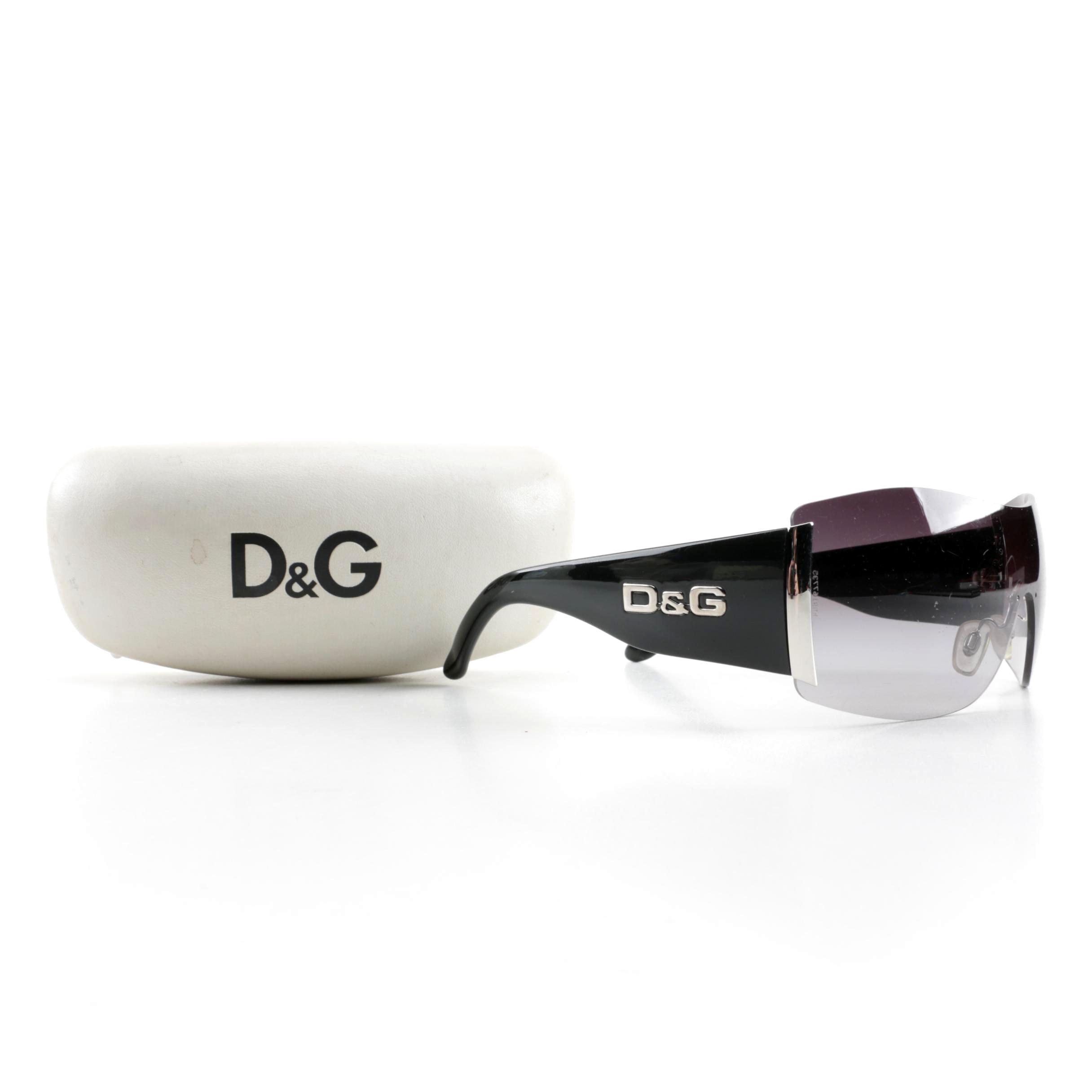D&G Shield Sunglasses
