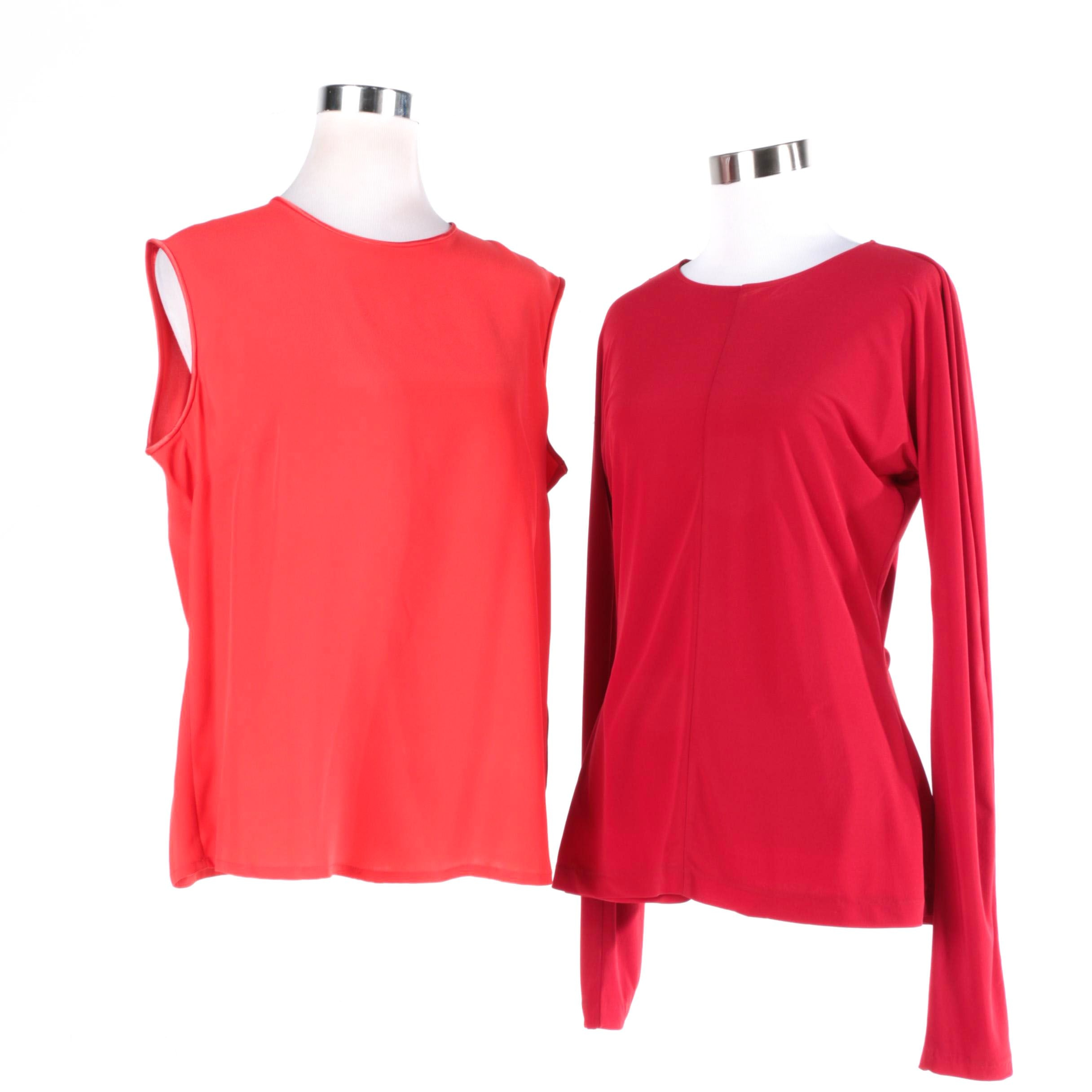 Escada Margaretha Ley and Norma Kamali Blouses