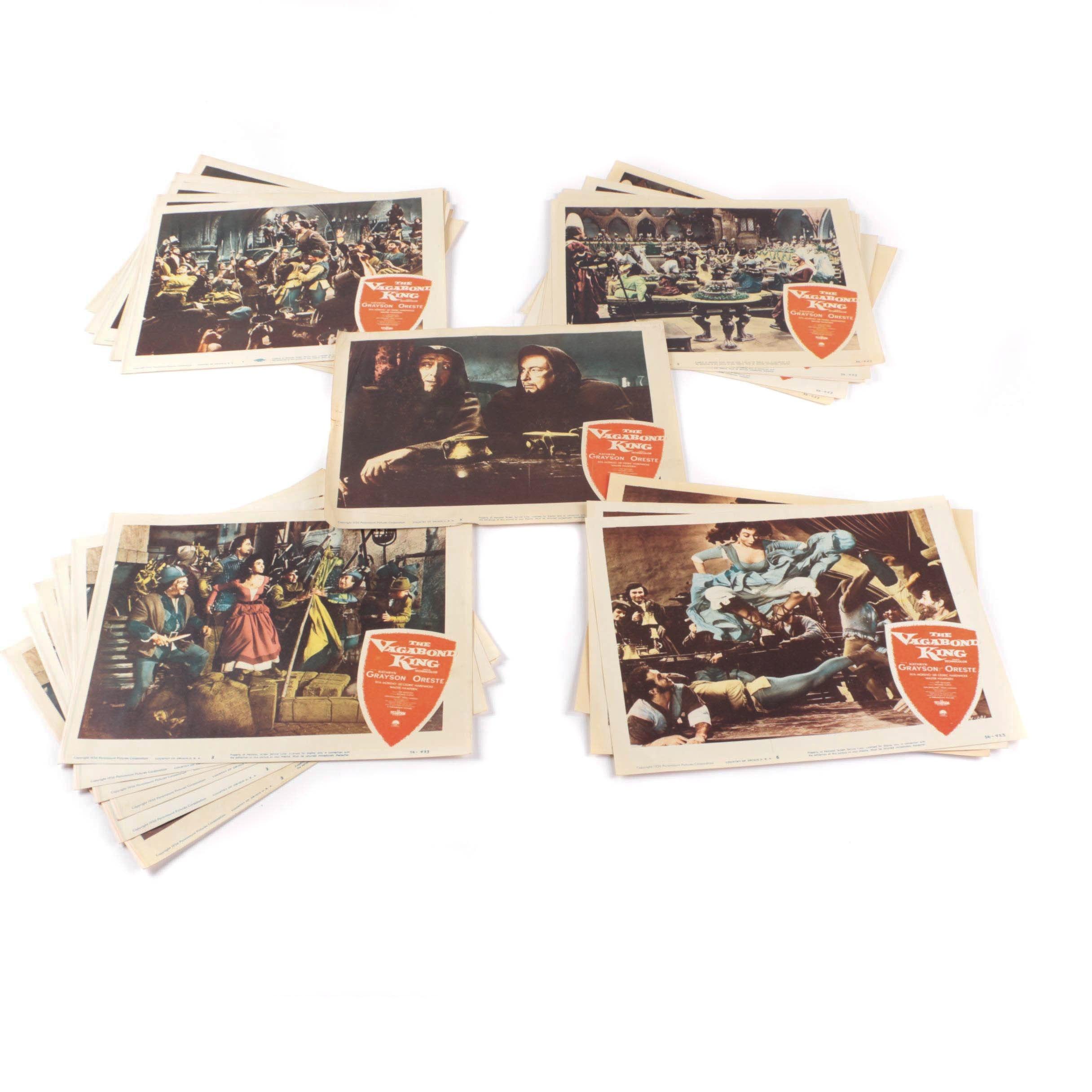 "Vintage ""The Vagabond King"" Lobby Cards"