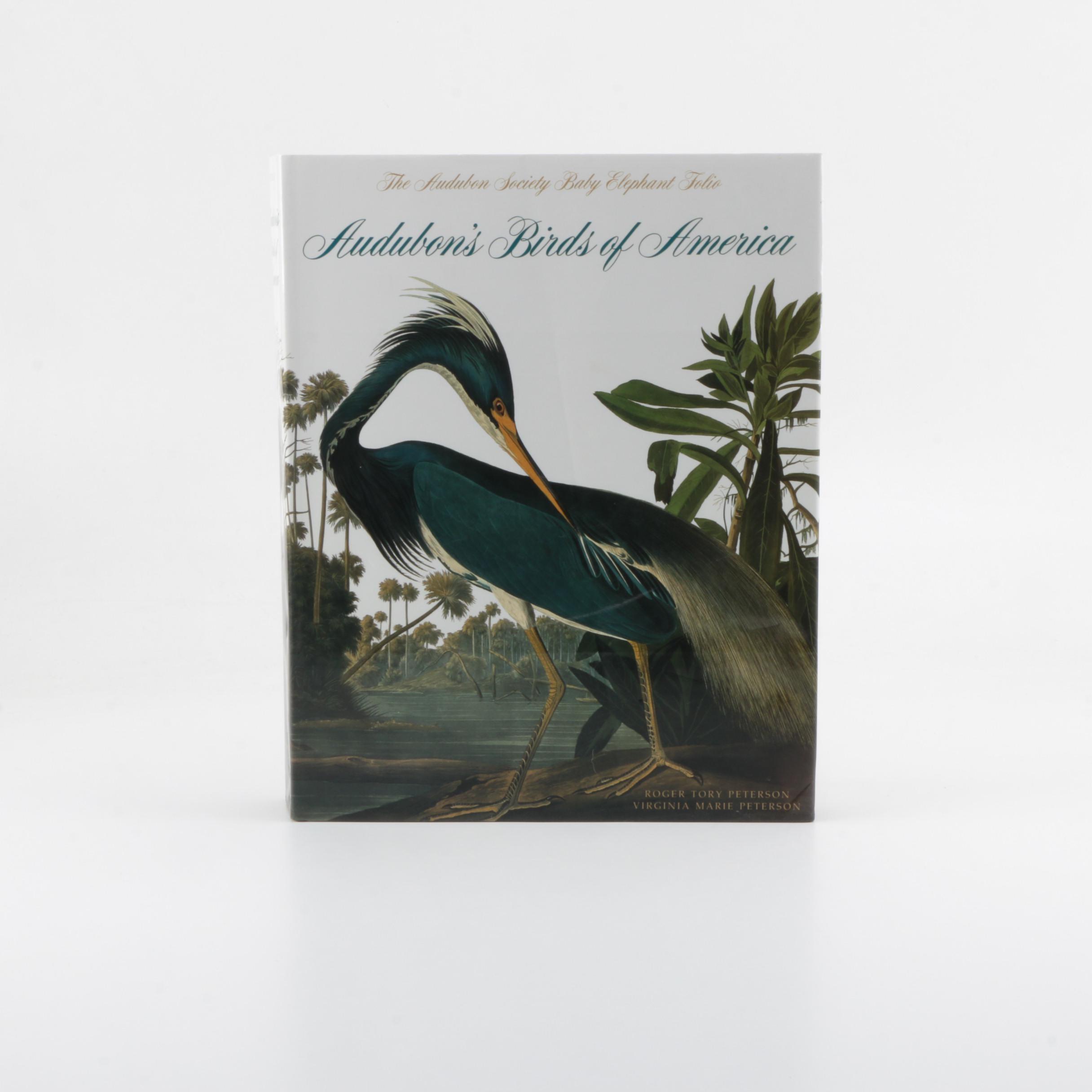 "Audubon's ""Birds of America"" Audubon Society Baby Elephant Folio Edition"