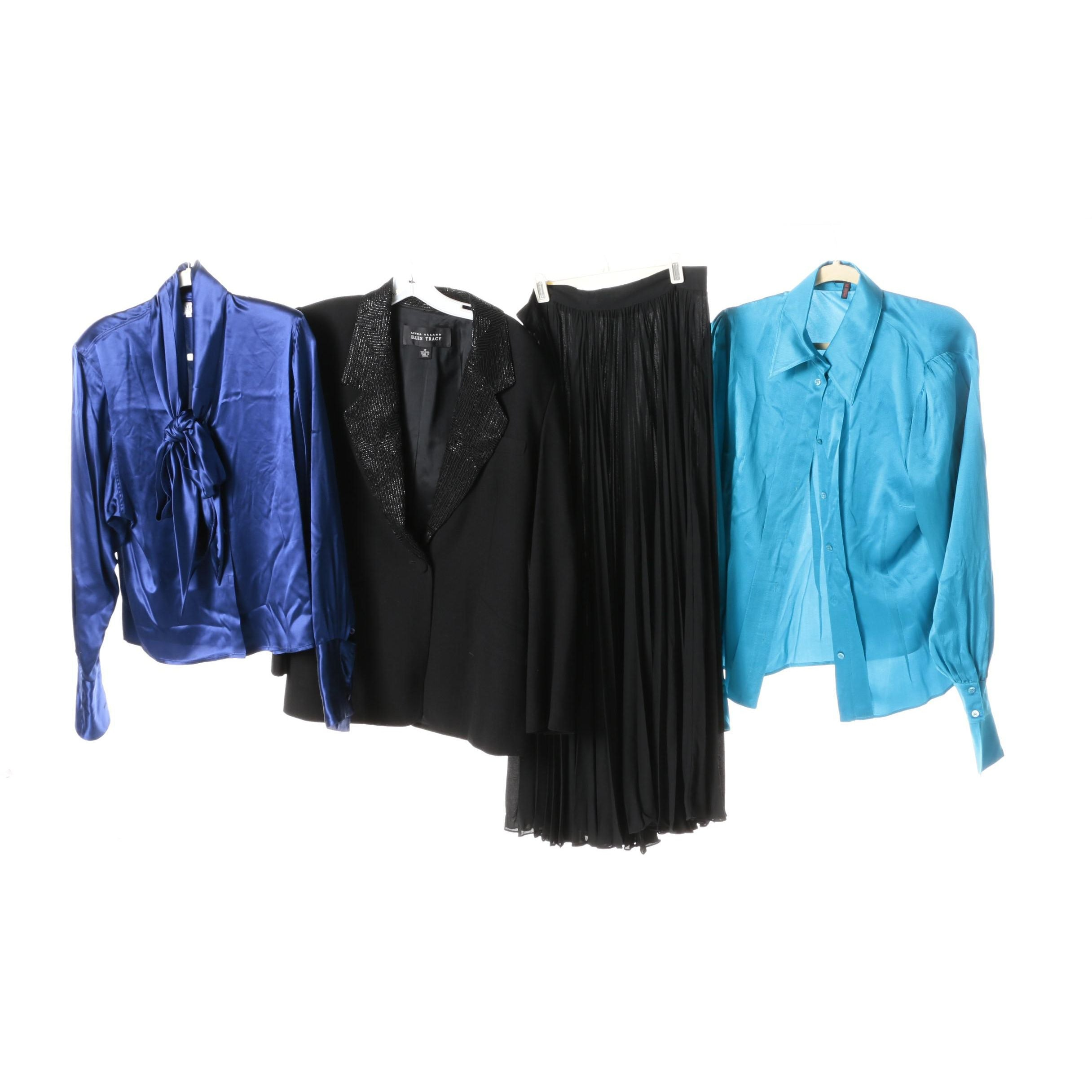 Women's Blouses, Blazer and Skirt Including Escada
