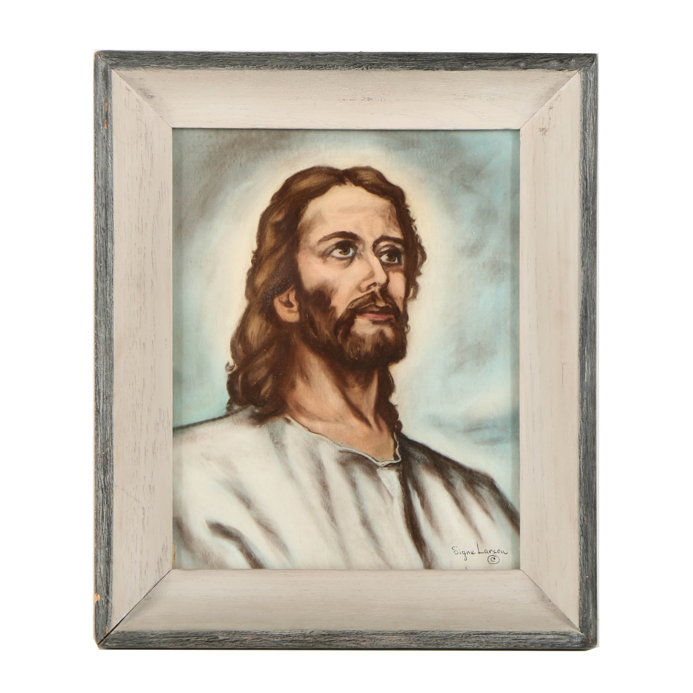 Signe Larson Reproduction Print on Paper of Christ