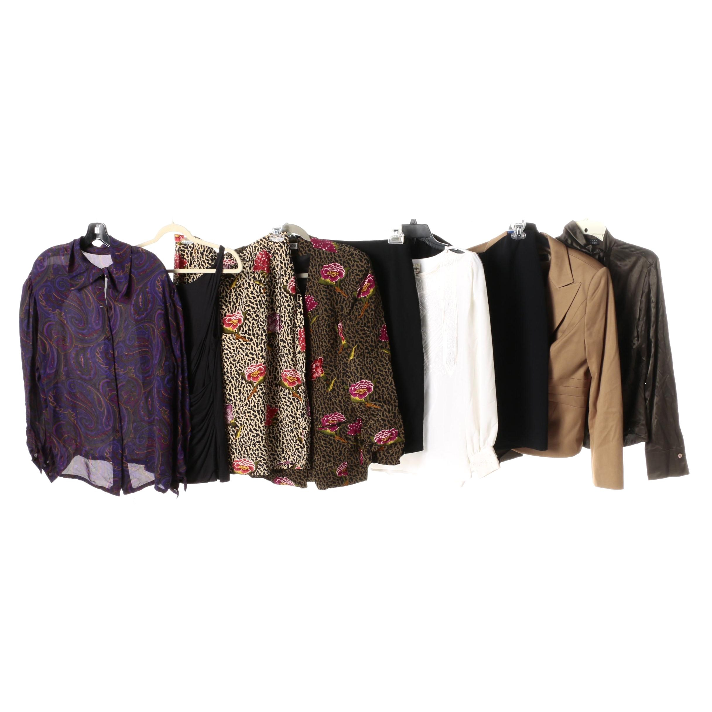 Women's Blouses, Suiting Separates and Skirt Suit Including Escada