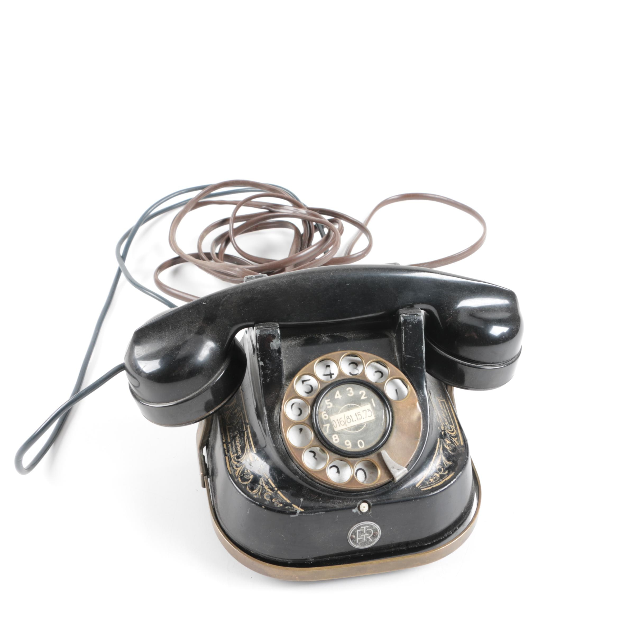 Ericsson Rotary Telephone