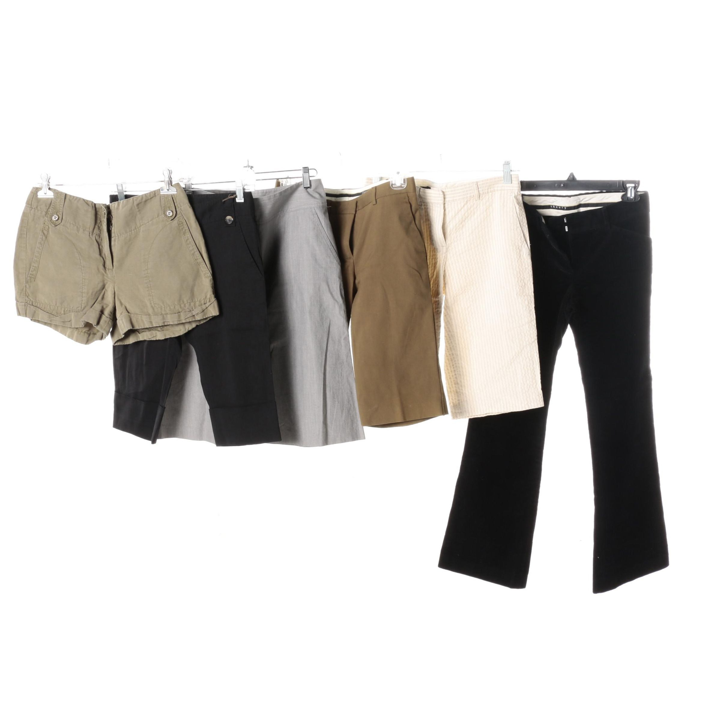 Women's Theory Shorts, Capris and Pants