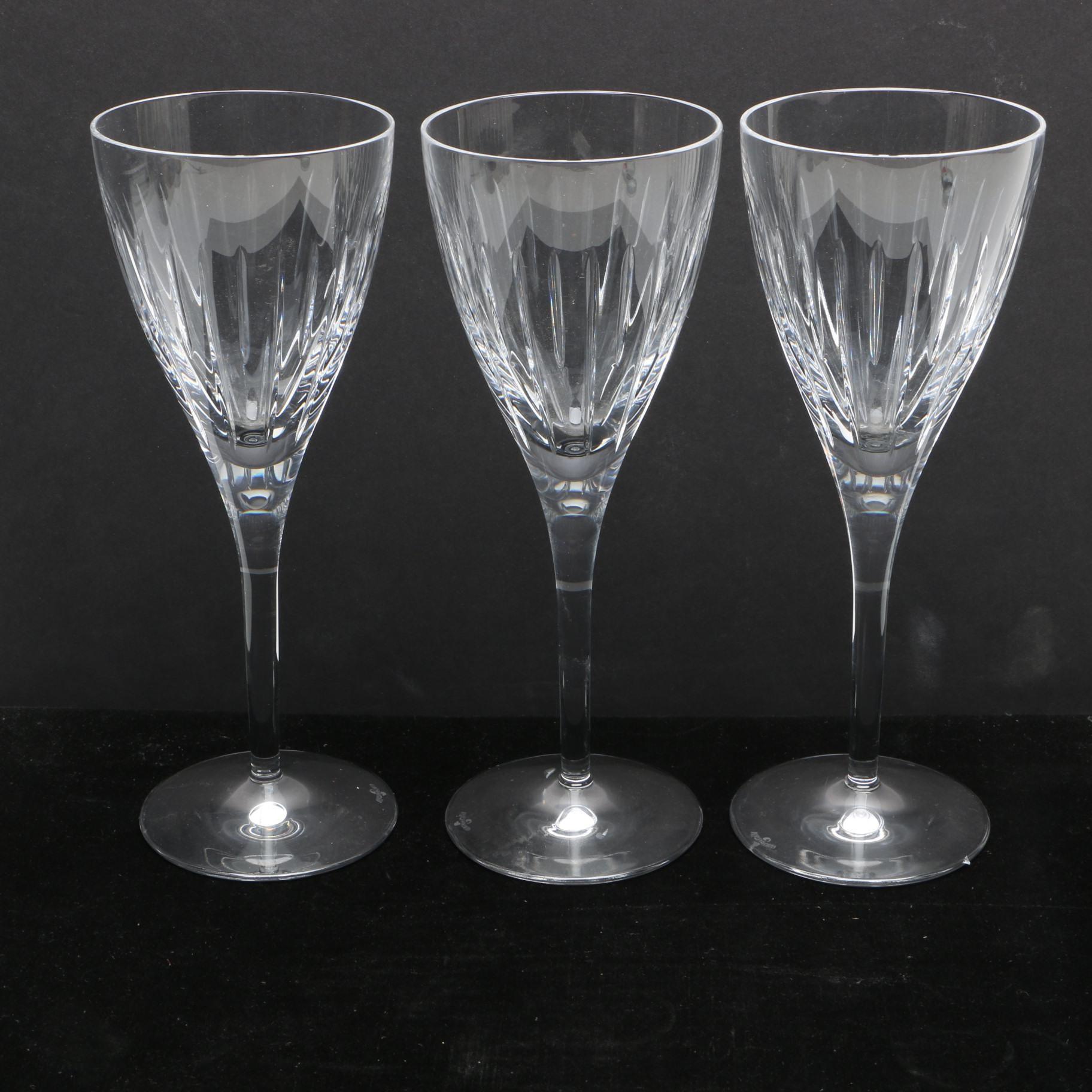 """Waterford Crystal """"Kirin"""" Water Goblets"""