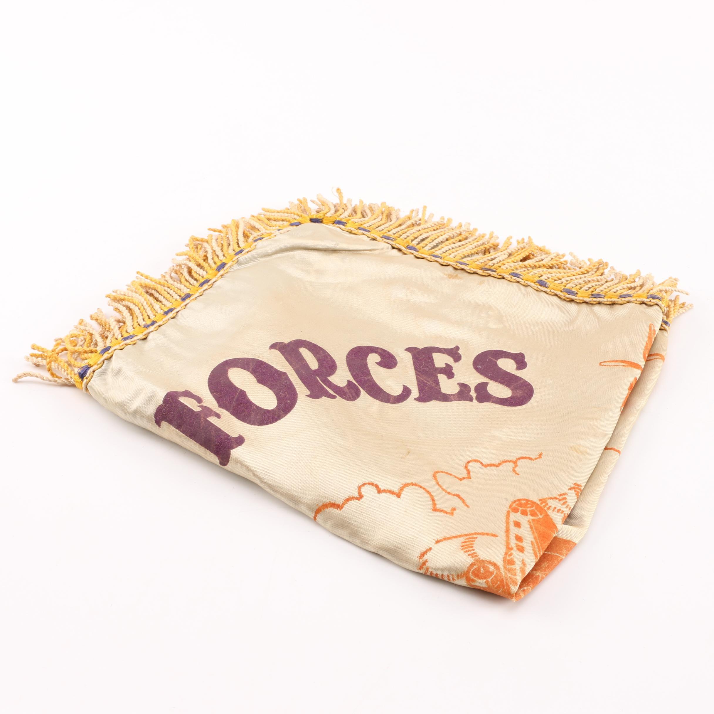 U.S. Air Forces Army Air Base Dyersburg, Tenn. Pillow Cover