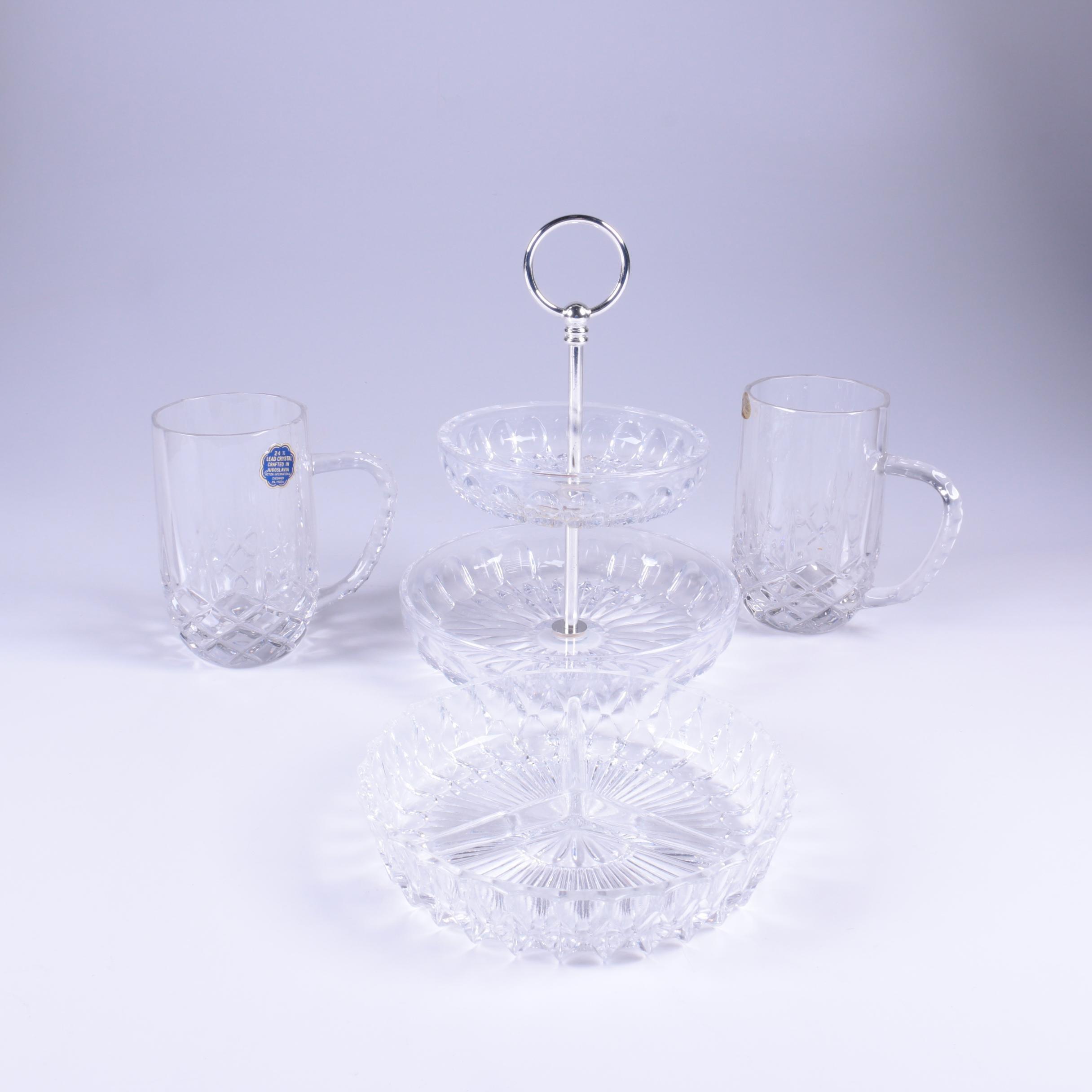 Crystal Tableware Featuring Gorham