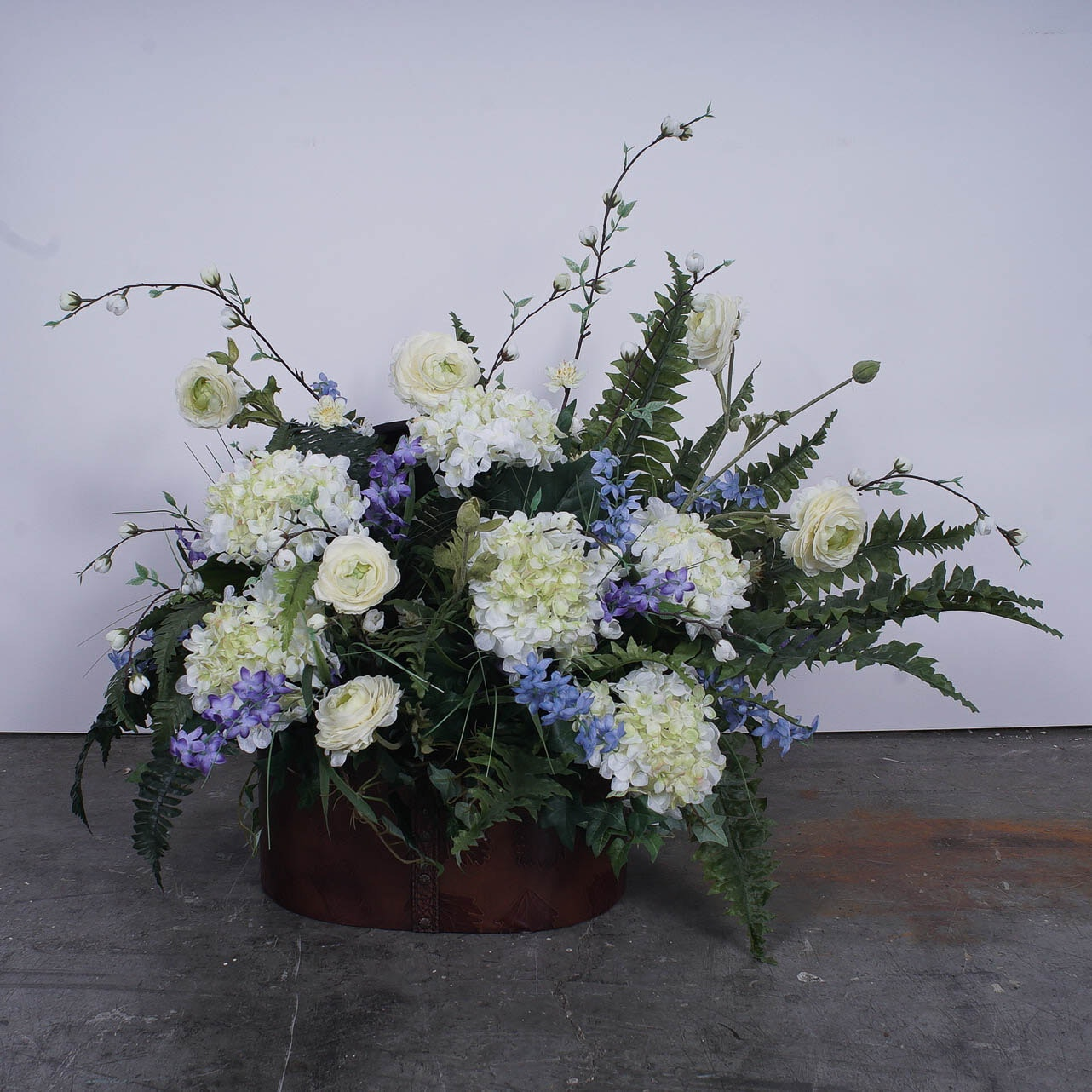 Faux Floral Arrangement
