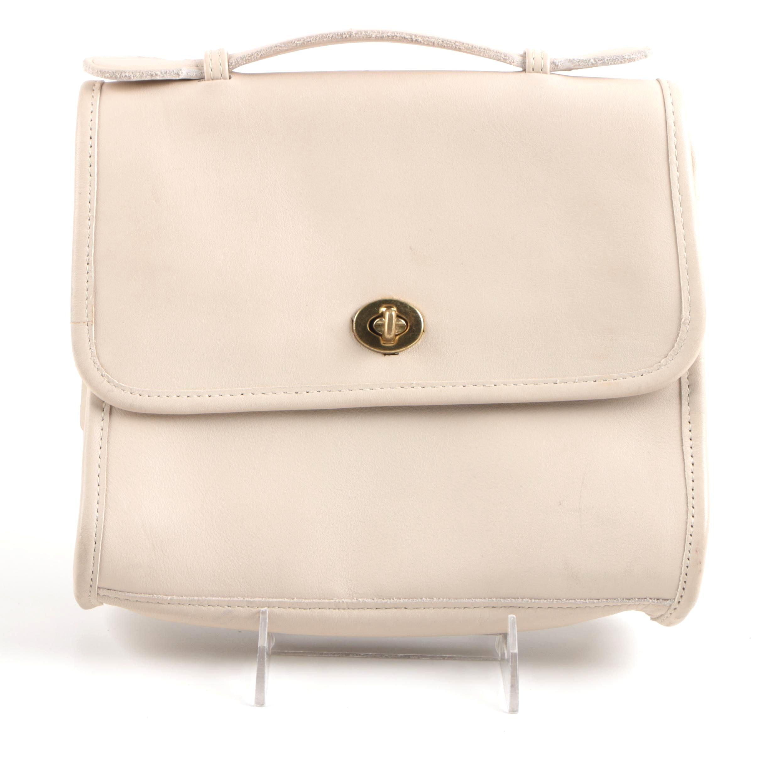 Vintage Coach Classic Court Handbag