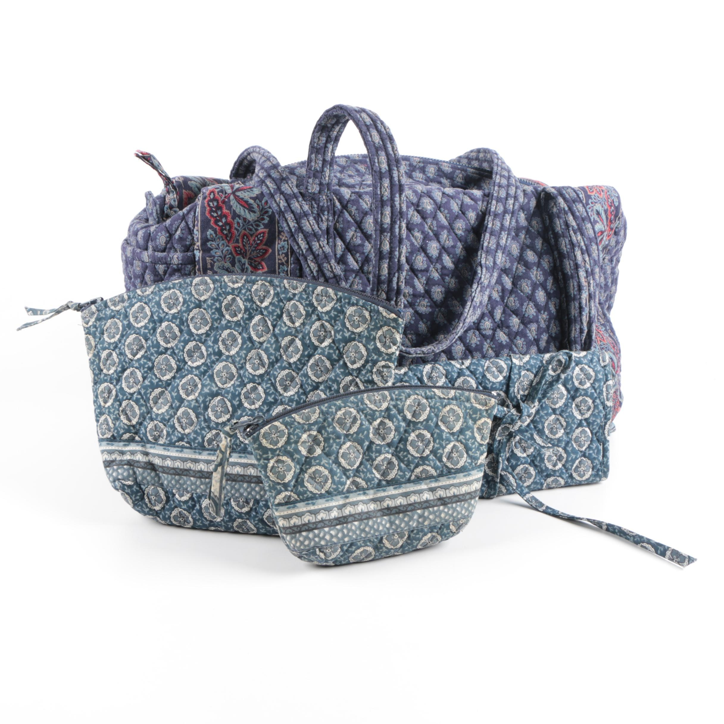 Vera Bradley Travel Bag with Three Pouches