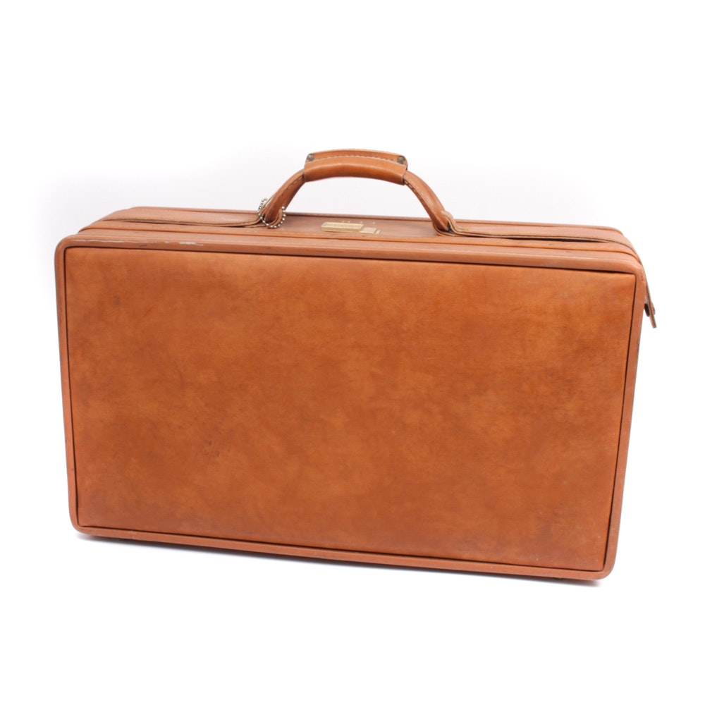 Vintage Hartmann Tan Leather Luggage