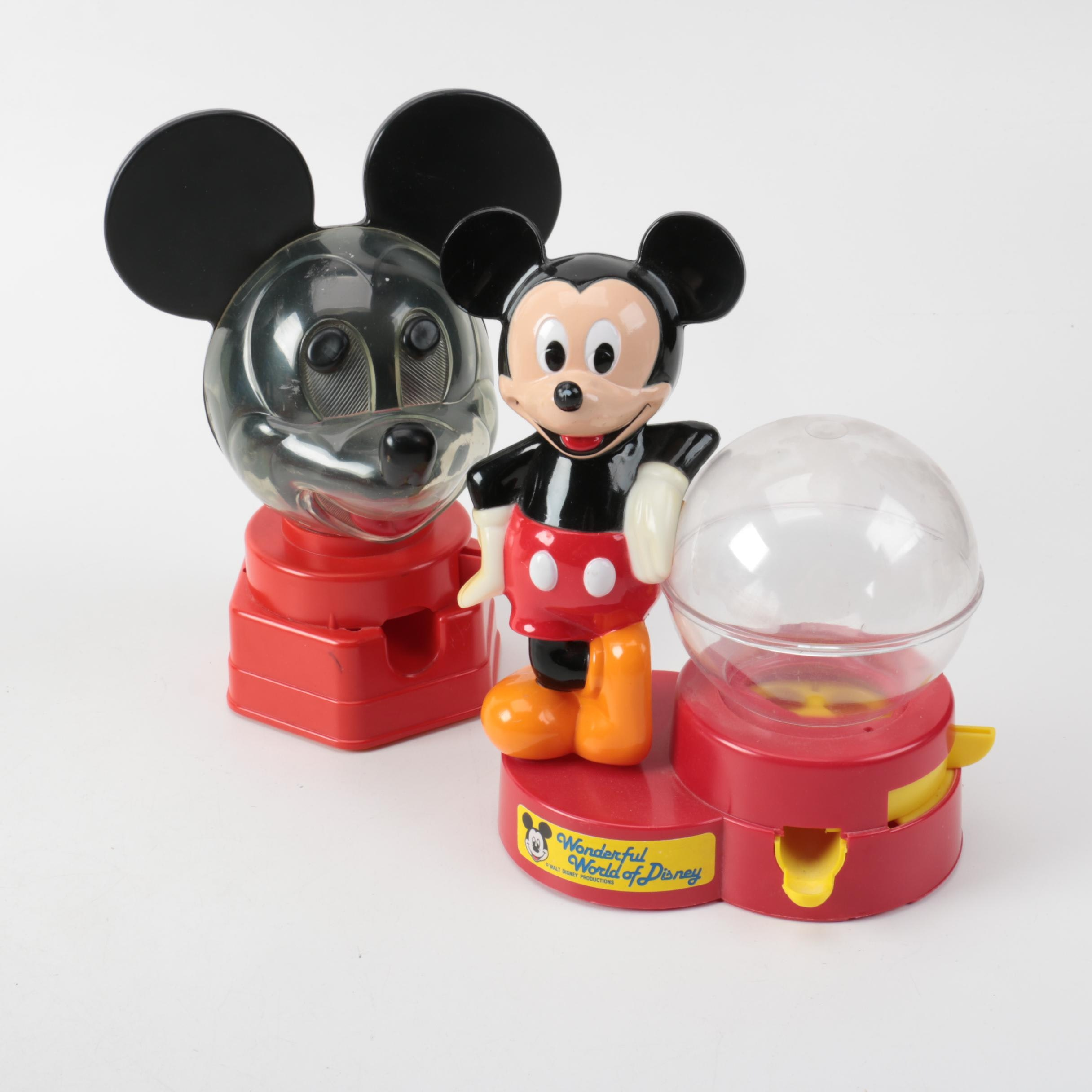 Mickey Mouse Gumball Machines