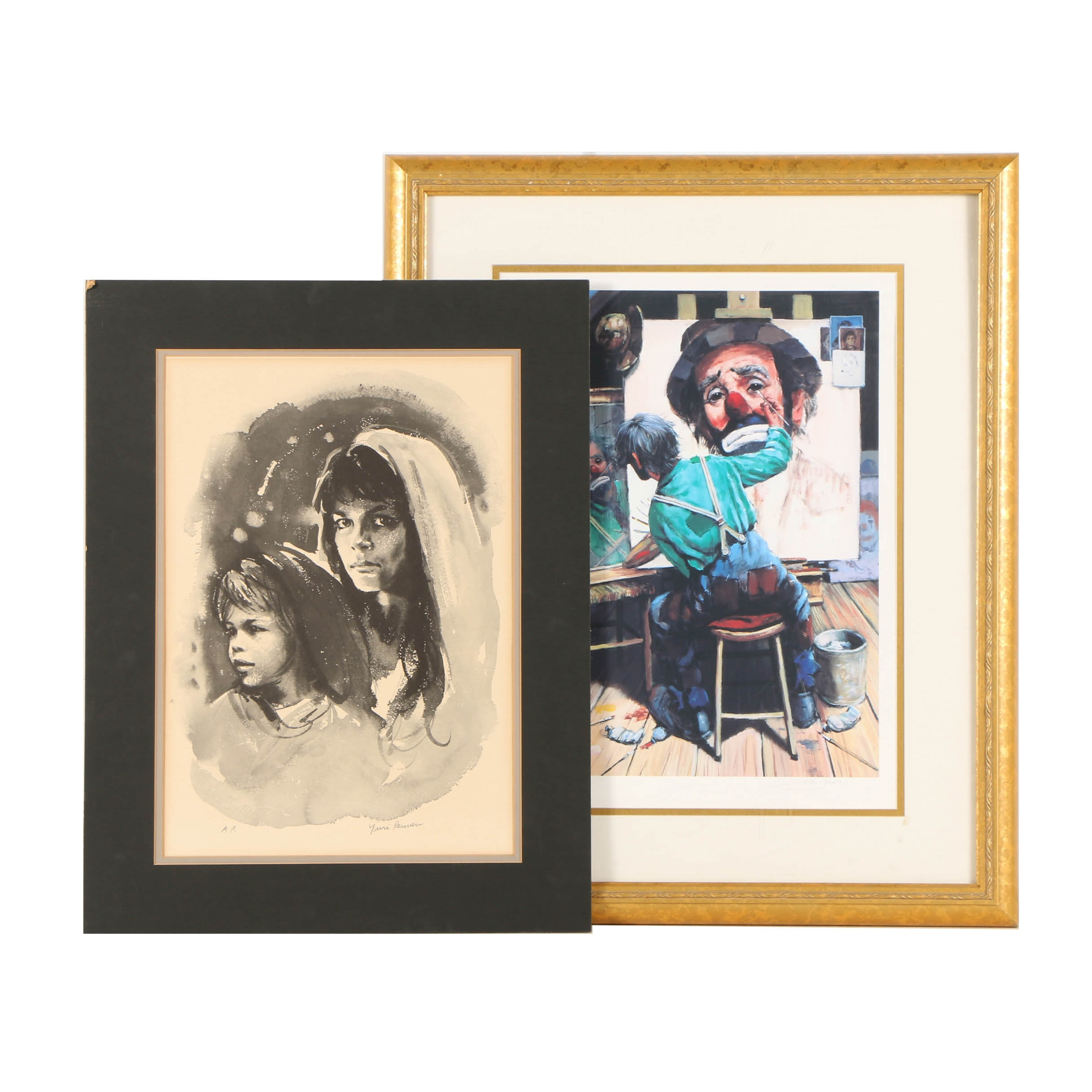 Artist's Proof Giclee Prints on Paper Including Barry Leighton-Jones