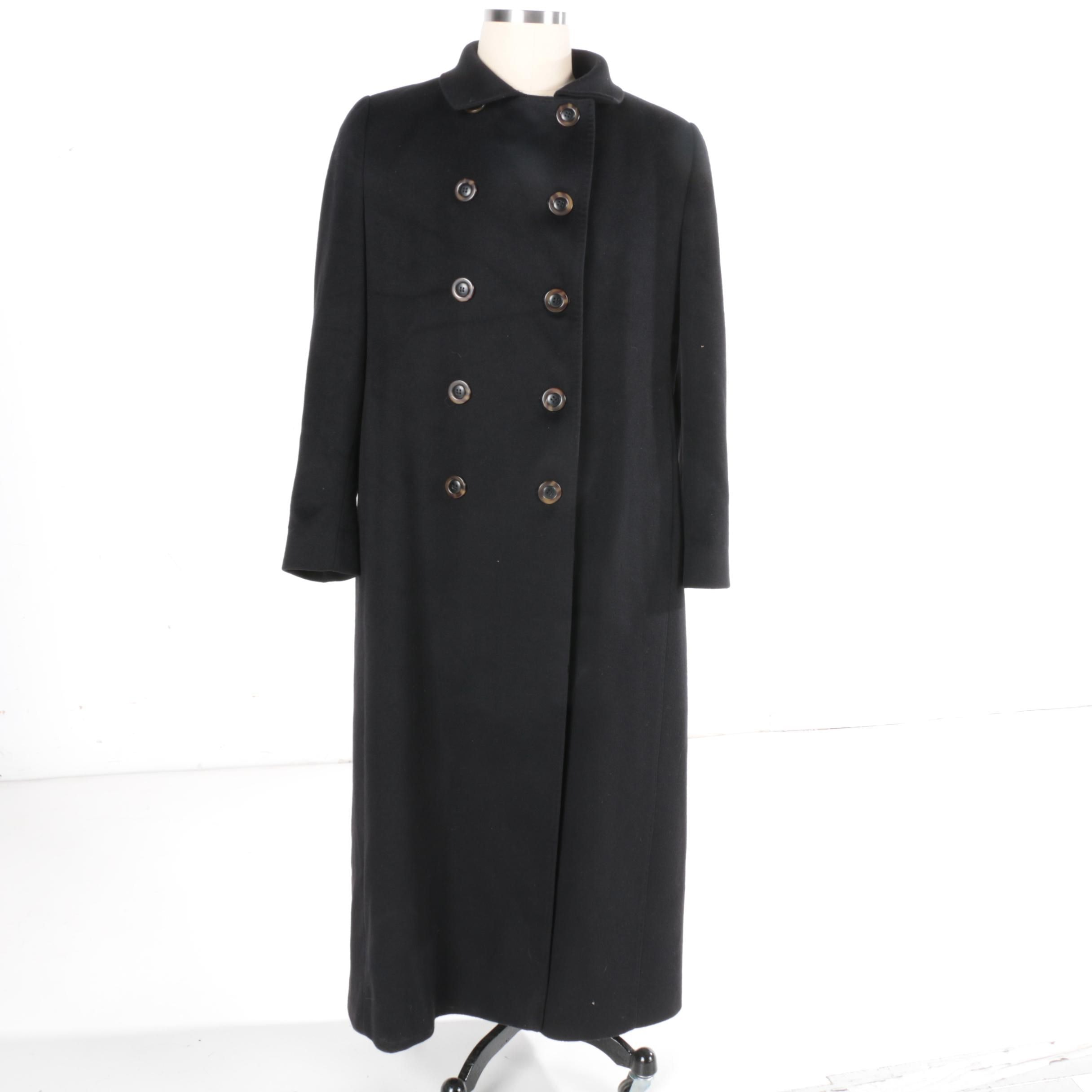Fleurette Saks Fifth Avenue Cashmere Collection Coat