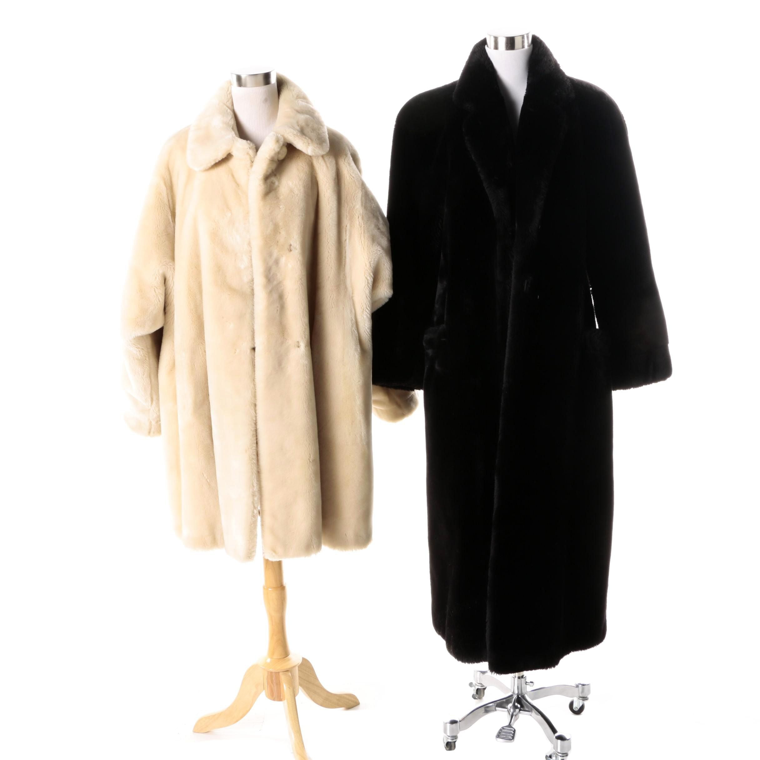 Vintage Faux Fur Coats