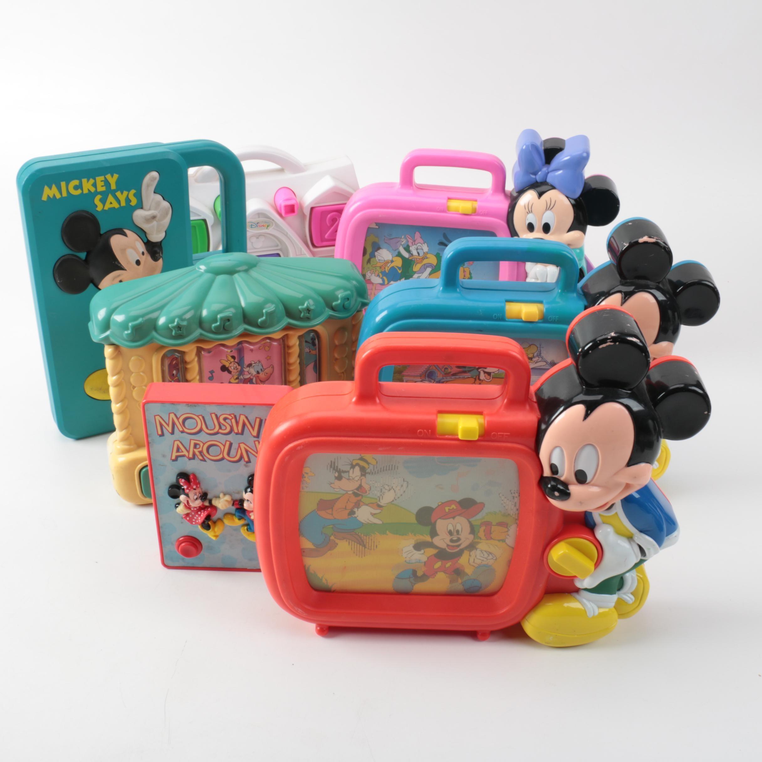 Vintage Disney Electronic Toys