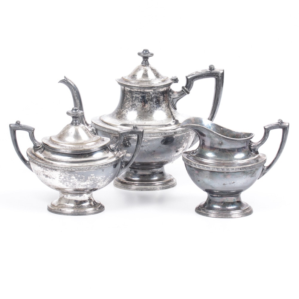 Wallace & Sons Silver Soldered Tableware