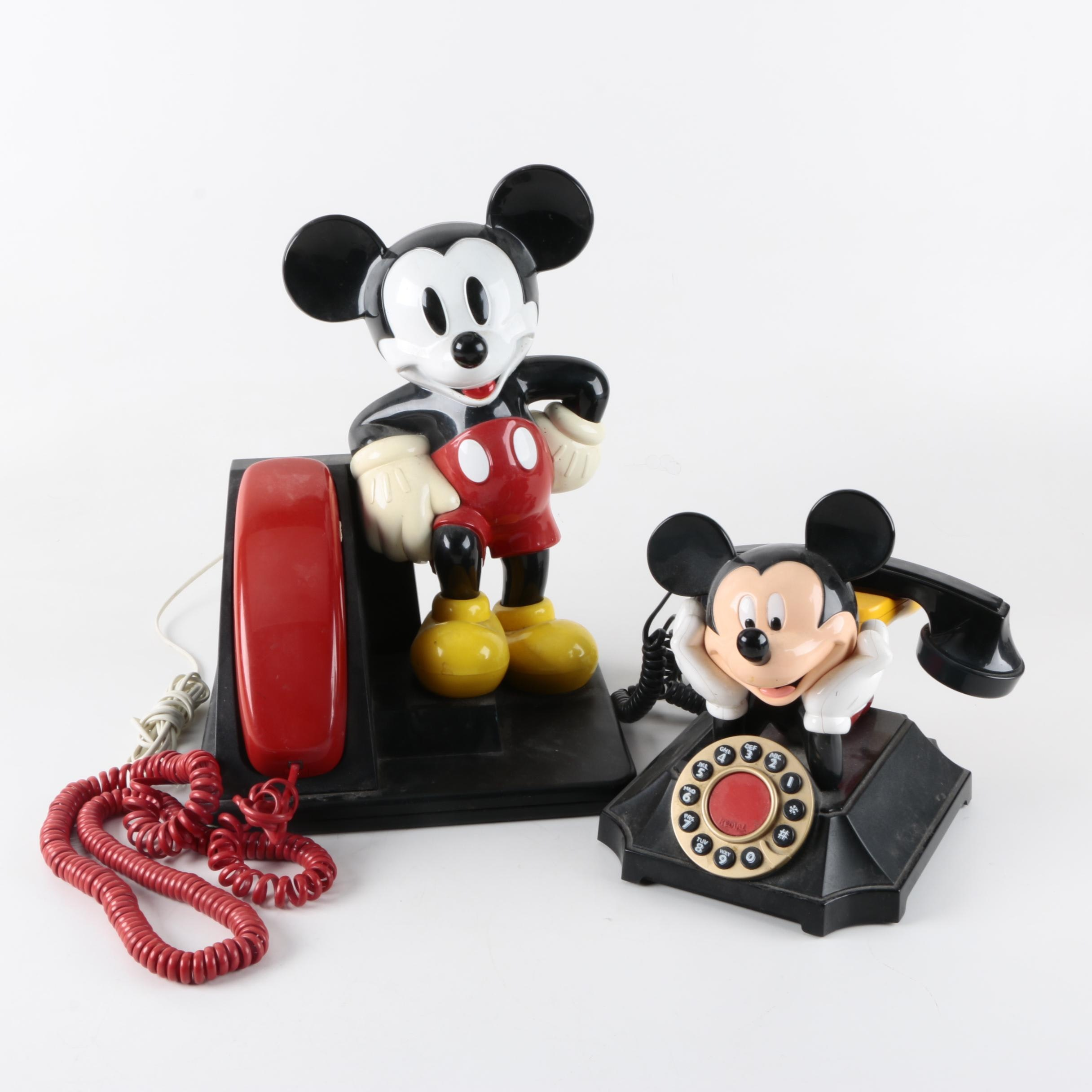 Mickey Mouse Telephones