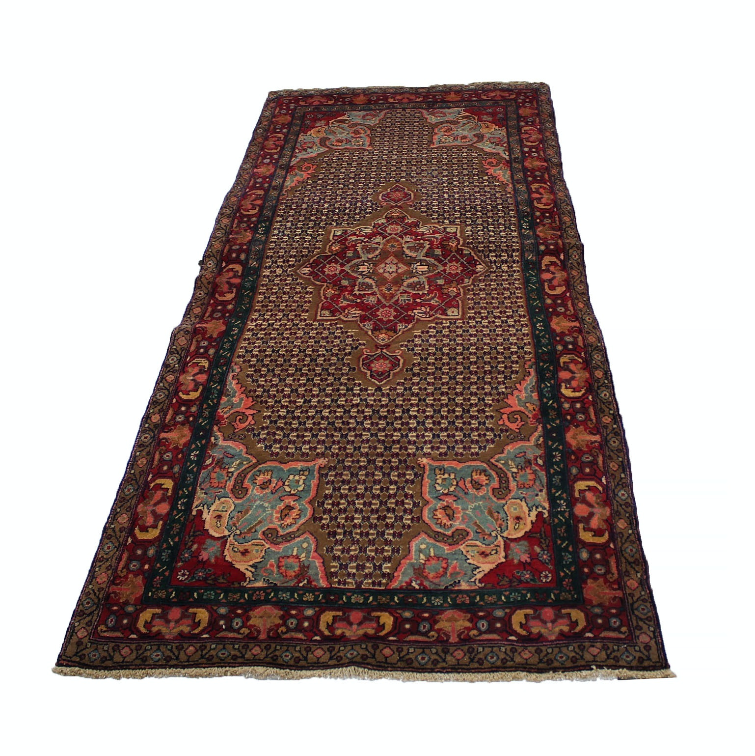 Hand-Knotted Persian Koliai Long Rug