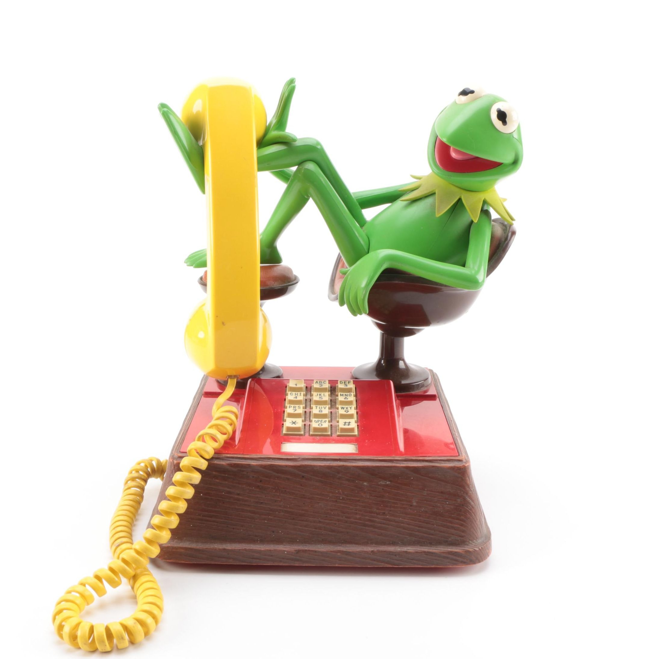 Vintage Kermit the Frog Telephone by American Bell