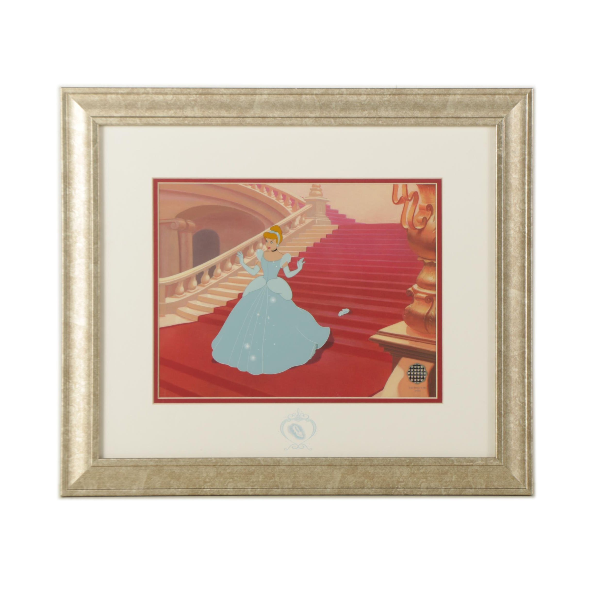 """Limited Edition Animation Cel from Disney's """"Cinderella"""""""