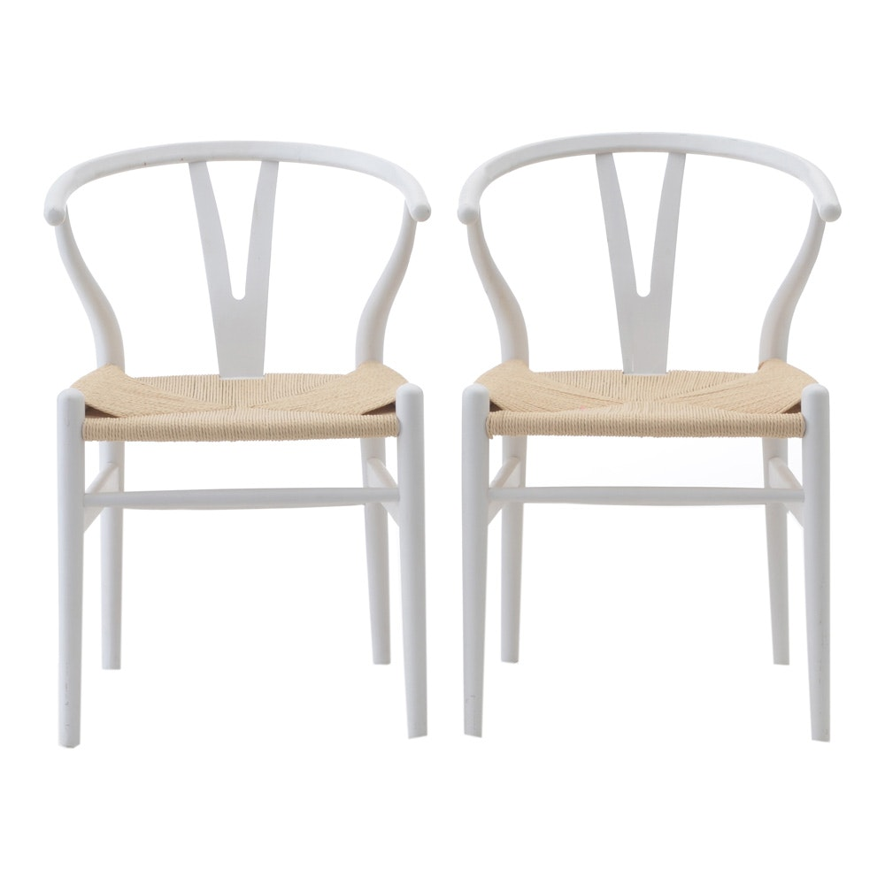 Pair of Hans Wegner Style Chairs