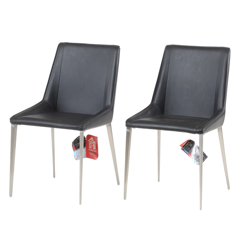 Pair of Contemporary Modern Side Chairs