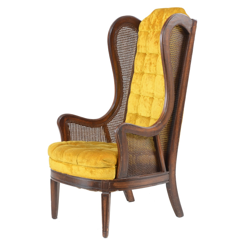 High Back Wing Back Chair