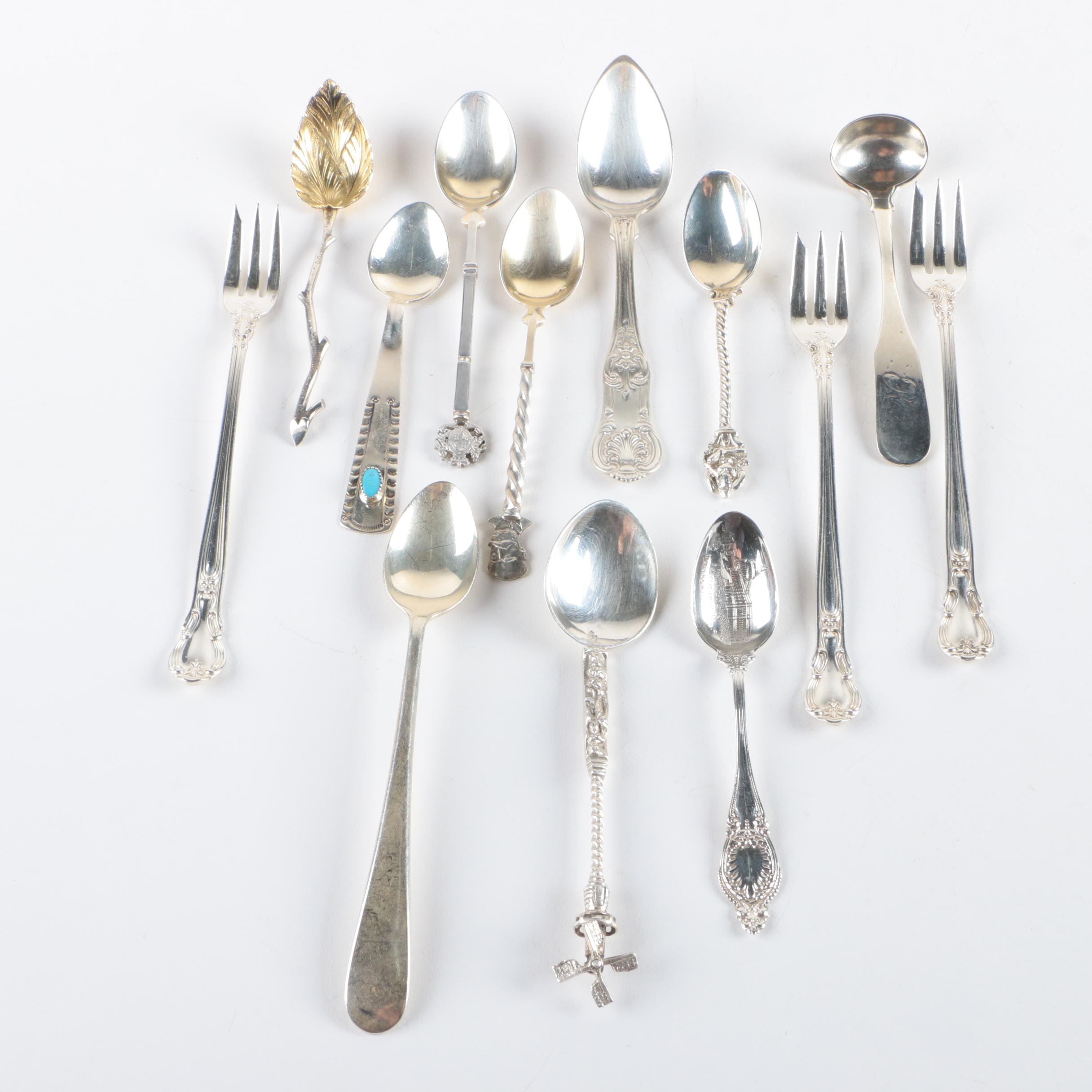 "Gorham ""Chantilly"" and Other Sterling Silver Flatware"