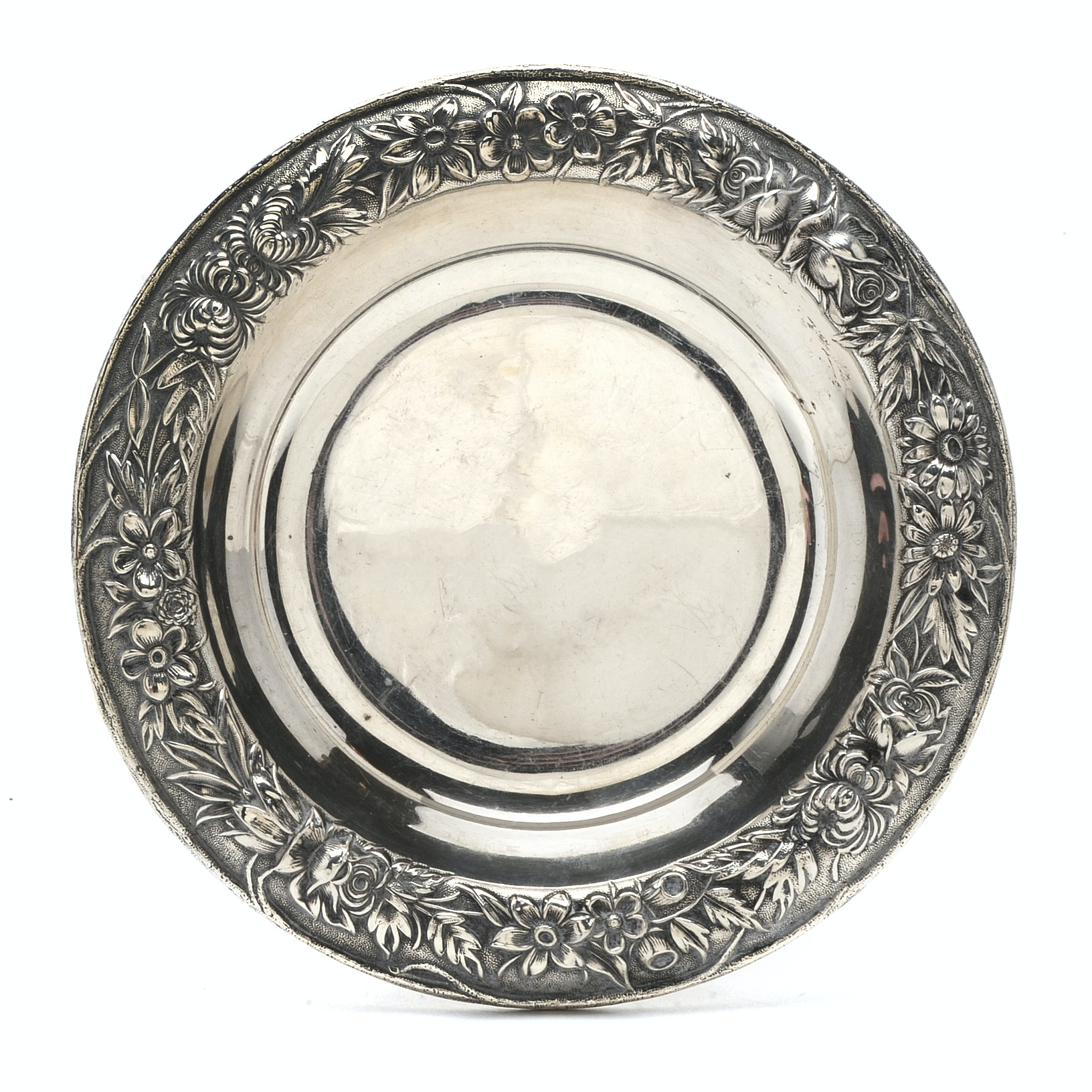 S. Kirk & Son Sterling Silver Wine Coaster