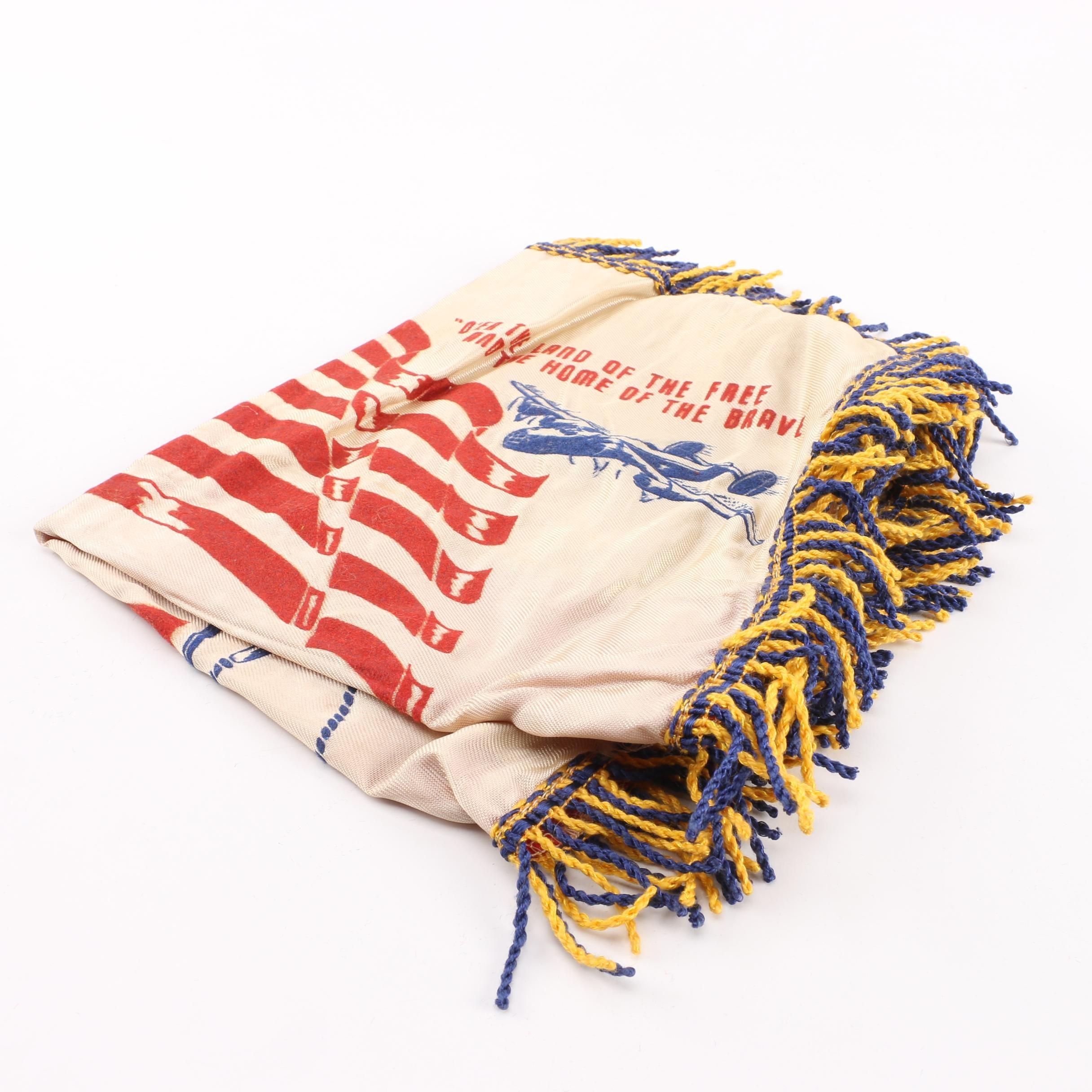 """WWII Omaha Nebraska """"Mother"""" Pillow Cover"""