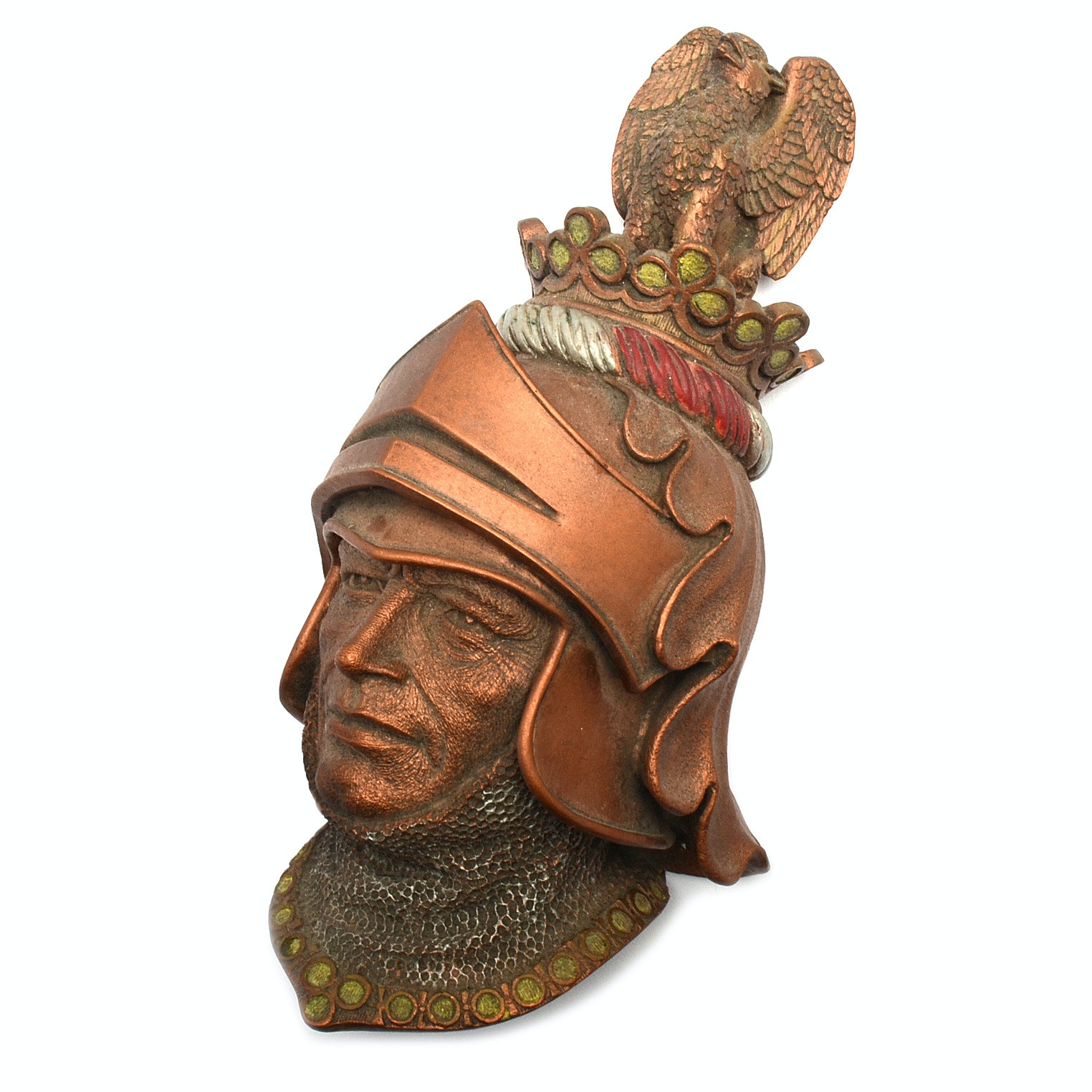 1972 Roman Or Greek Soldier Decorative Wall Plaque