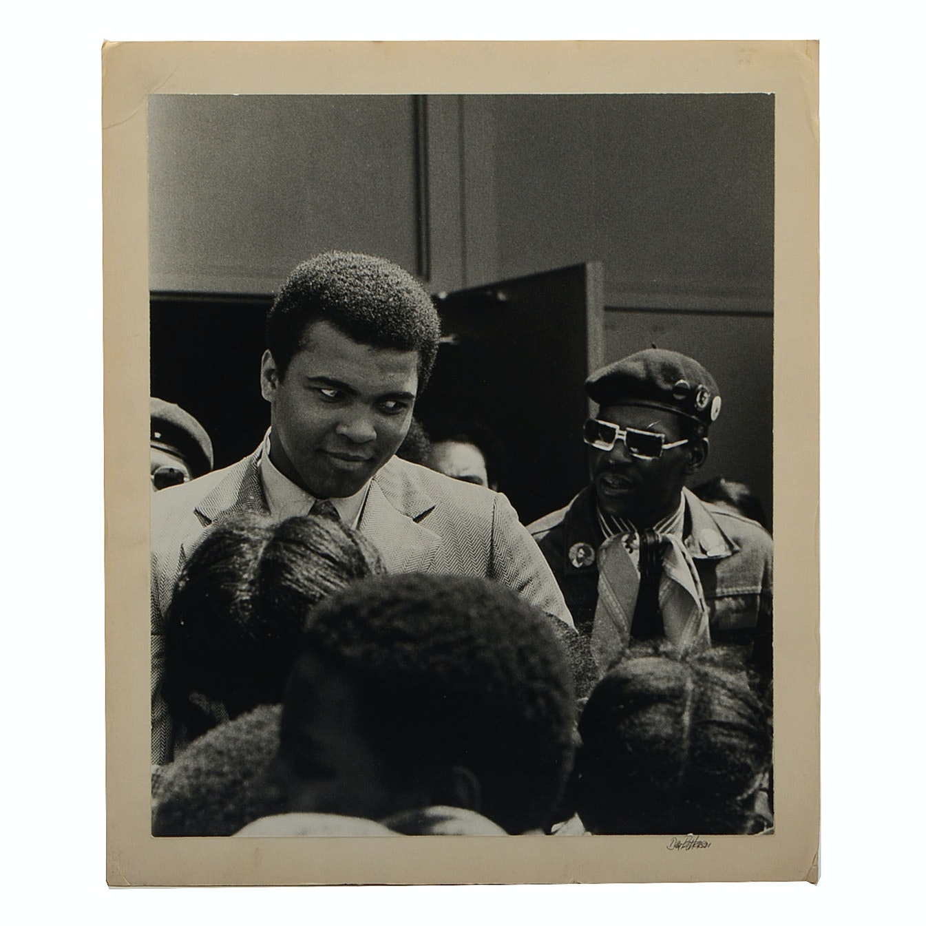 Muhammad Ali Black and White Event Photograph