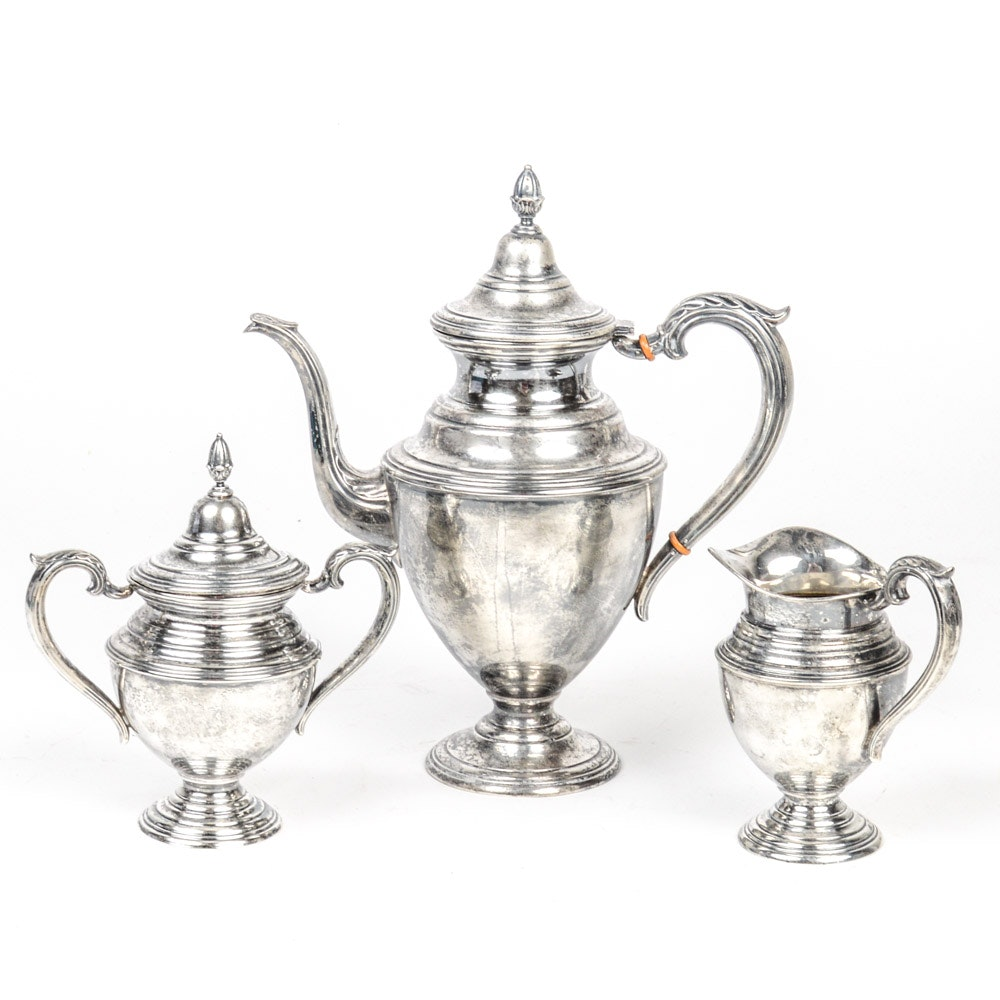 La Pierre Sterling Silver Coffee Set